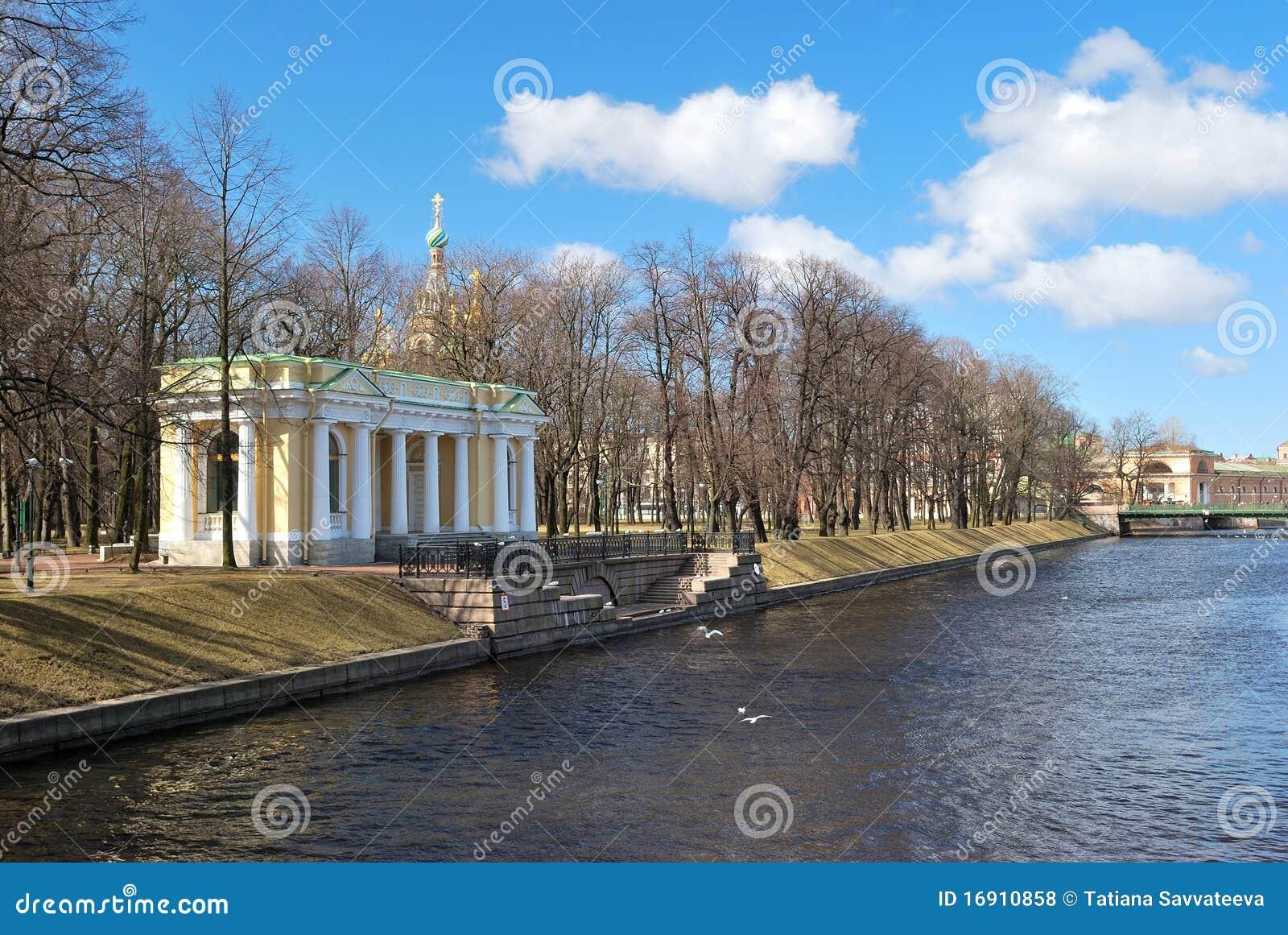 St petersburg сада mikhailovsky