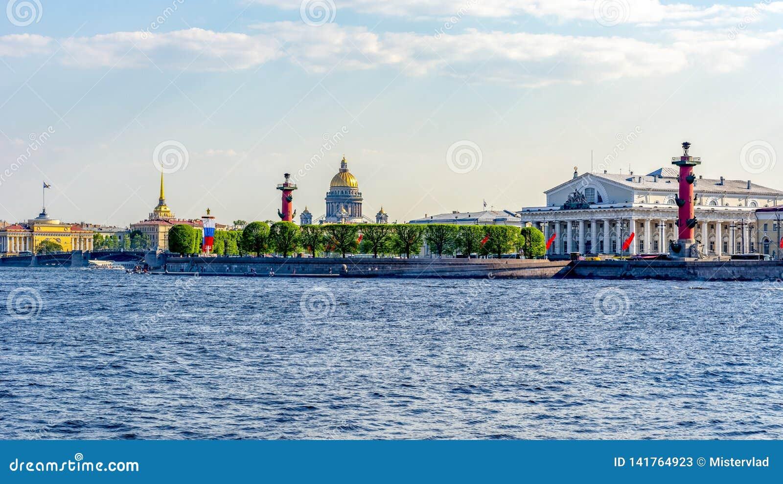 St. Petersburg cityscape, Russia