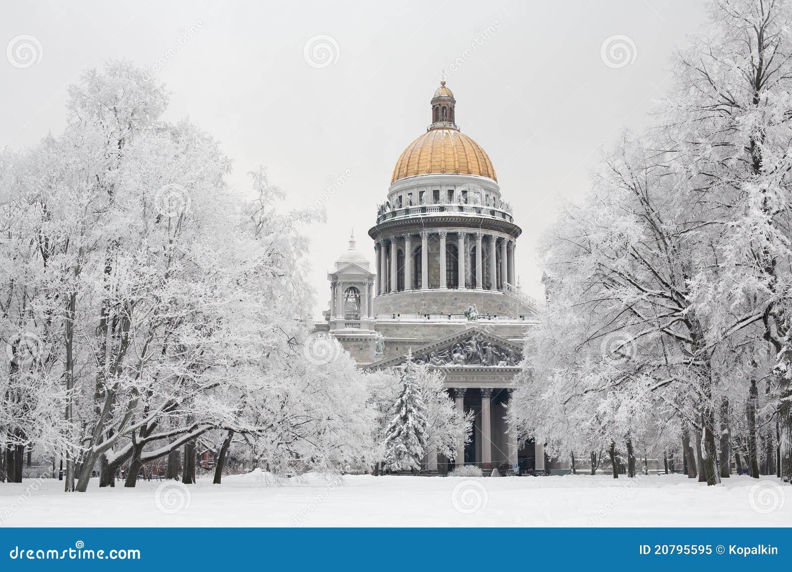 St. Petersburg in de winter