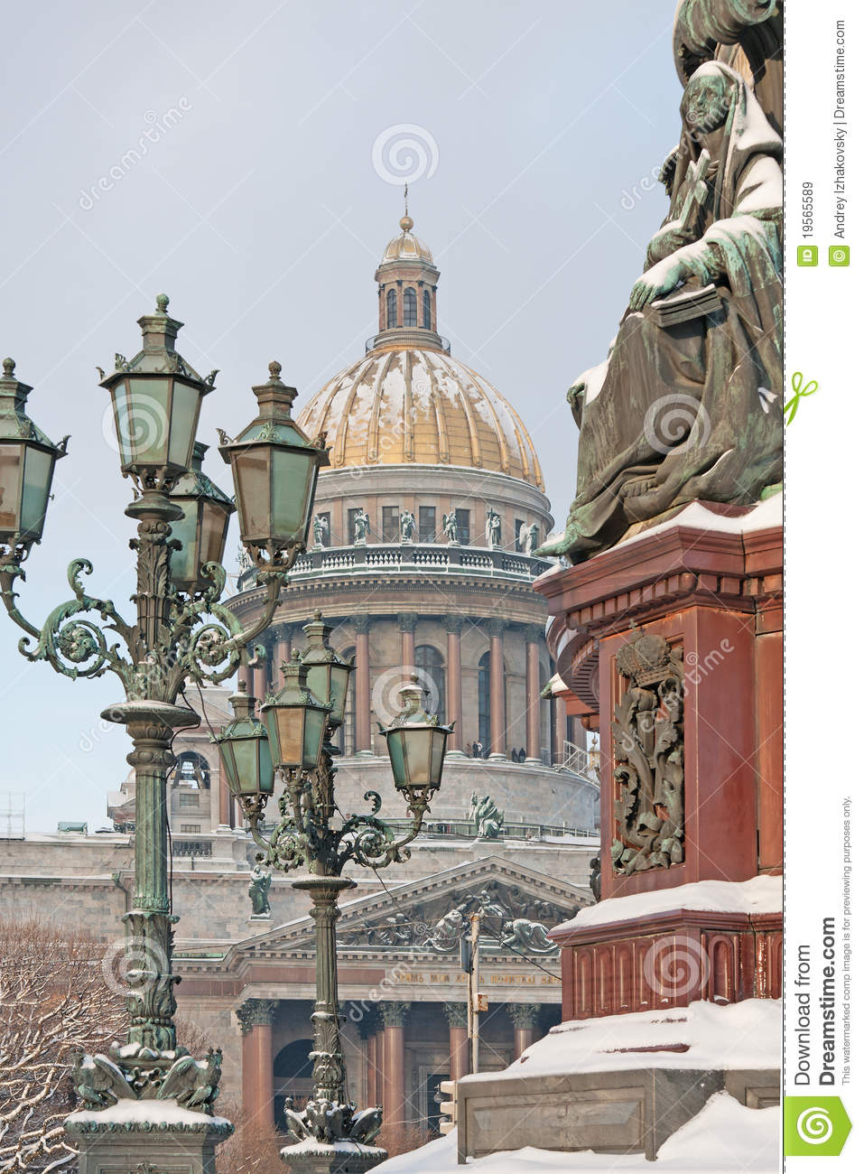St.-Petersburg. An Isaakievsky cathedral.
