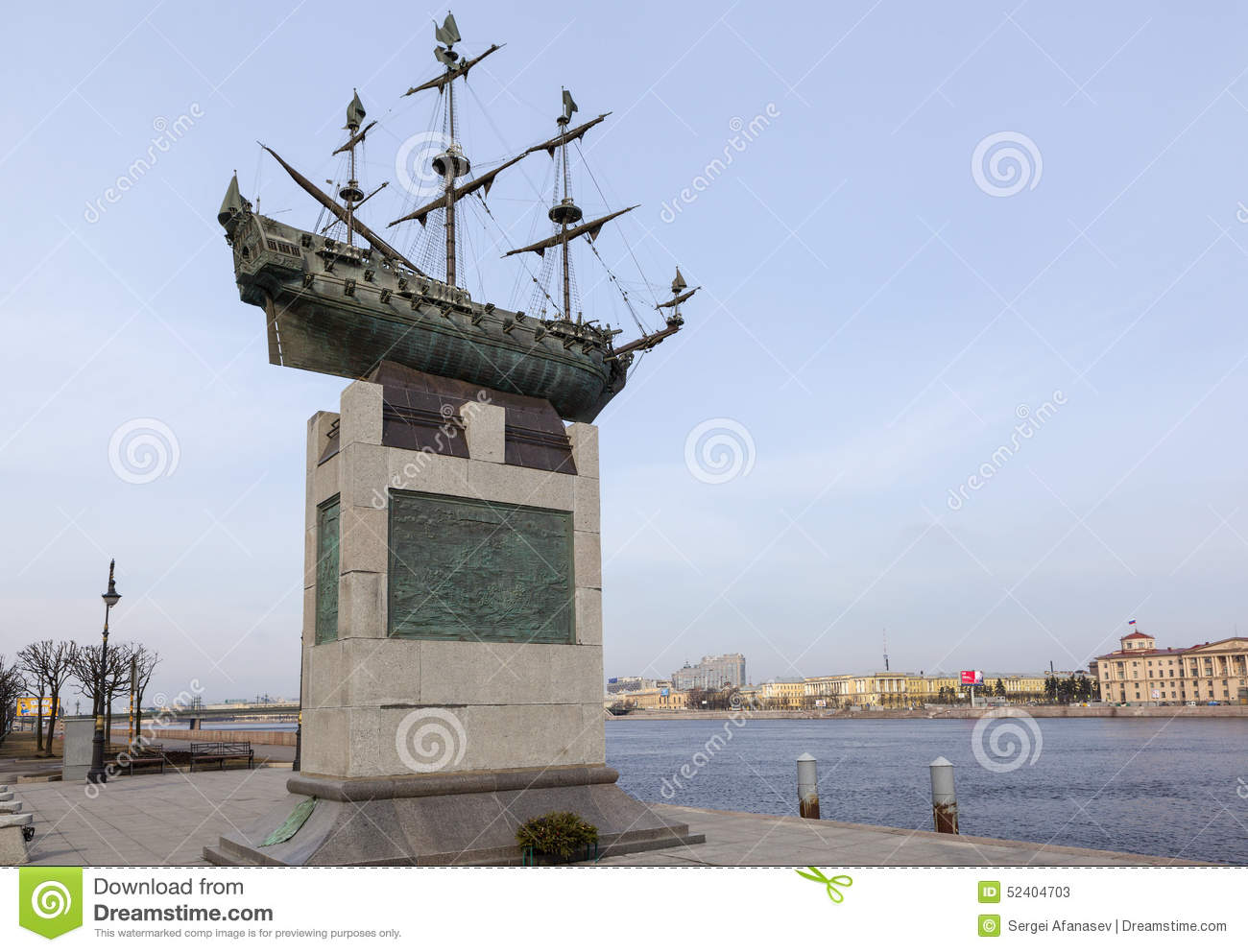 St Petersburg Russia April 05 2015 Photo Of Ship Of
