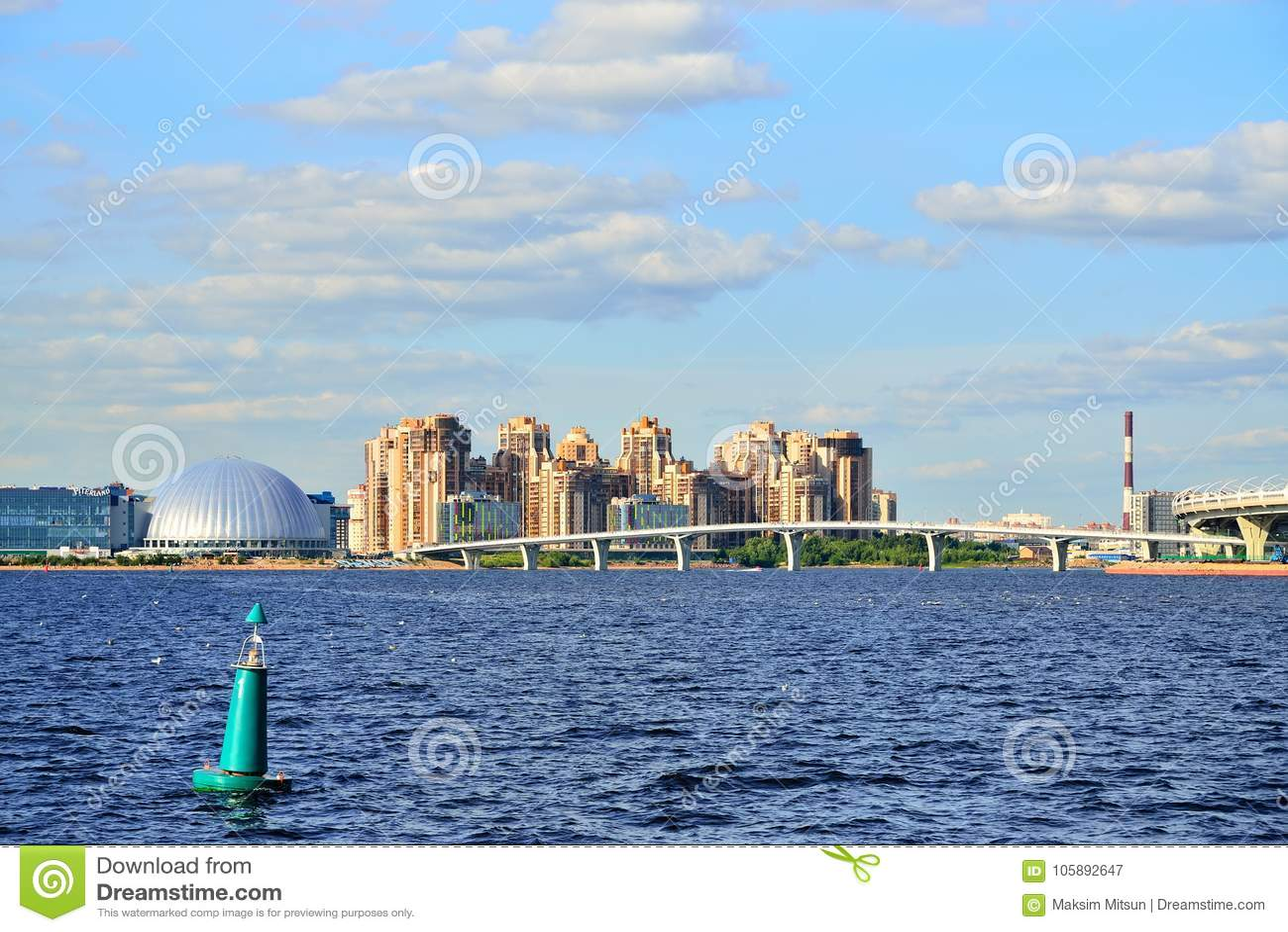 Neva Bay, St. Petersburg: description 71
