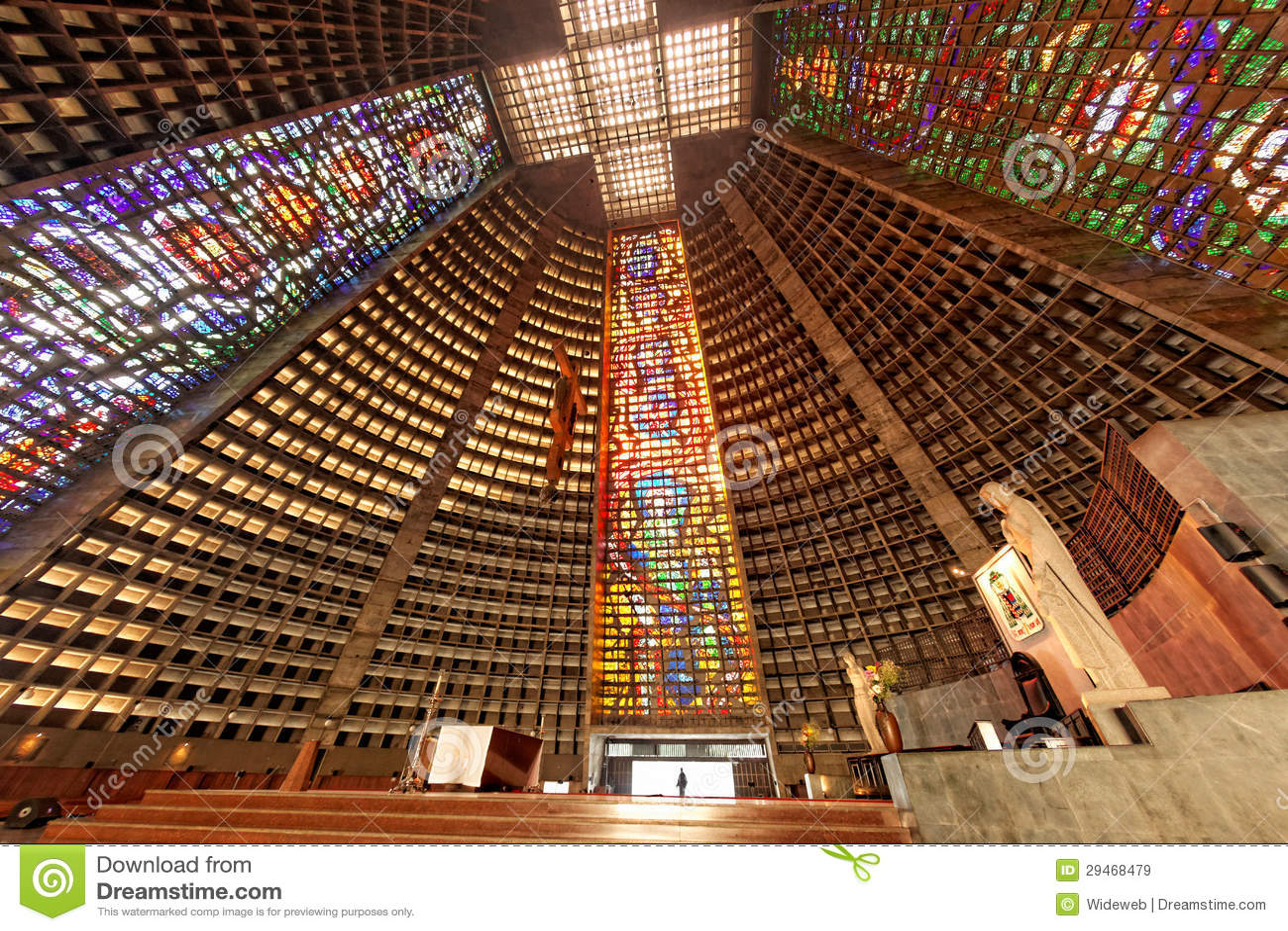 St. Sebastian Río de Janeiro el Brasil de la catedral
