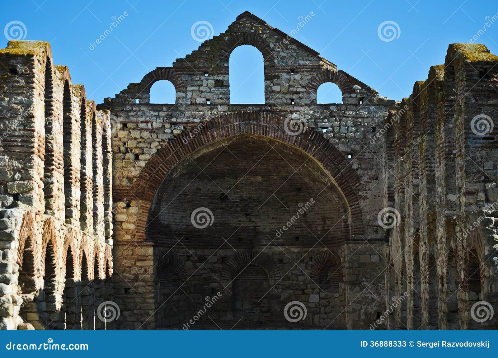 Download St Sophia Church immagine stock. Immagine di resti, rovine - 36888333
