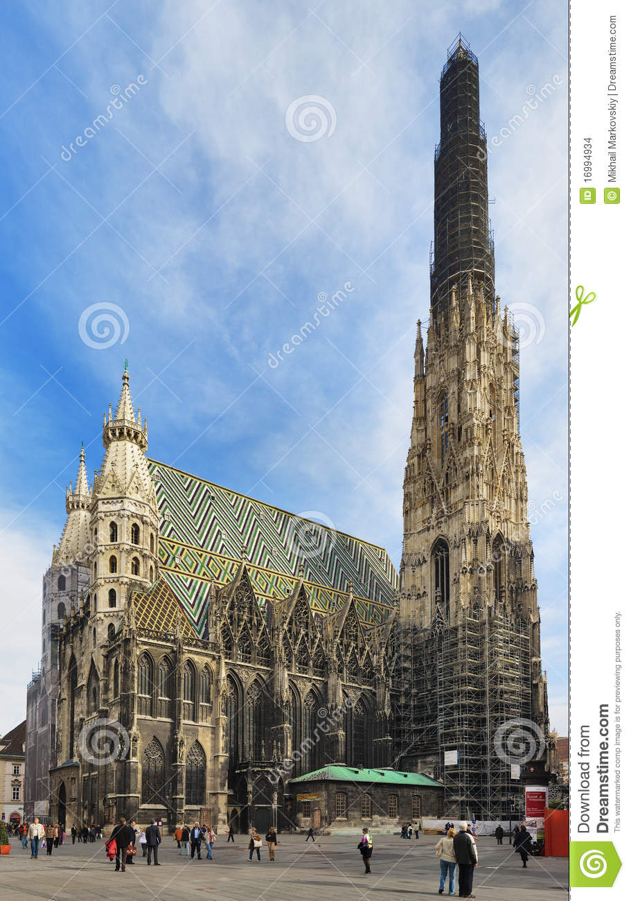 St Stephen S Cathedral In Vienna Editorial Stock Image