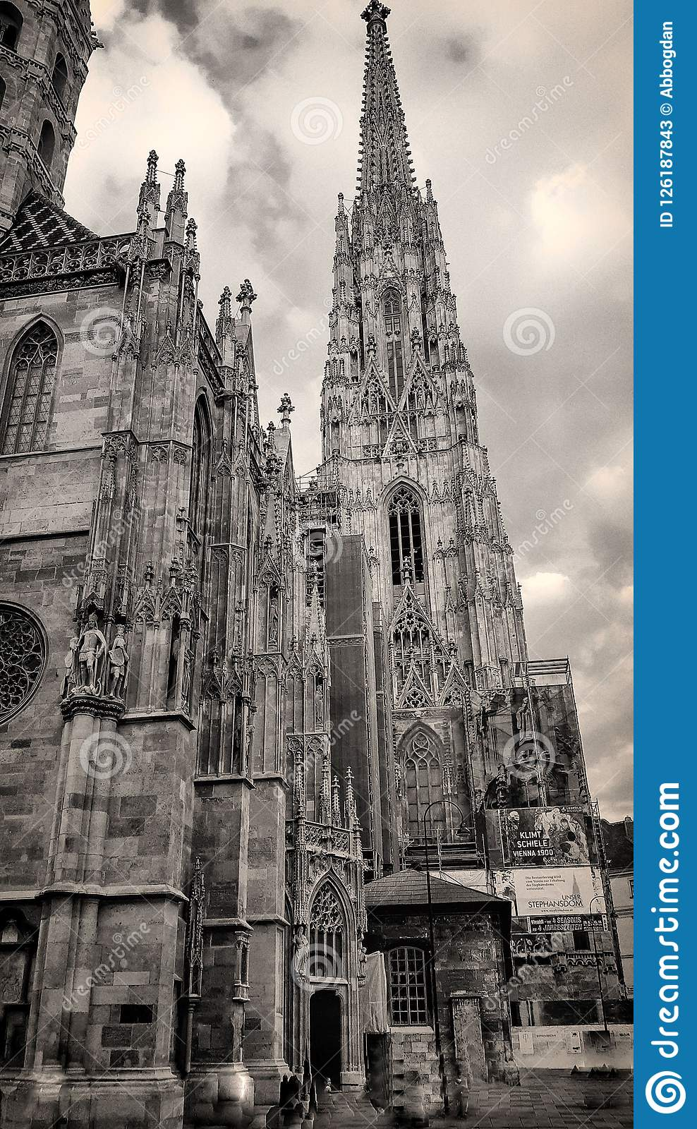 St. Stephen`s Cathedral in Vienna