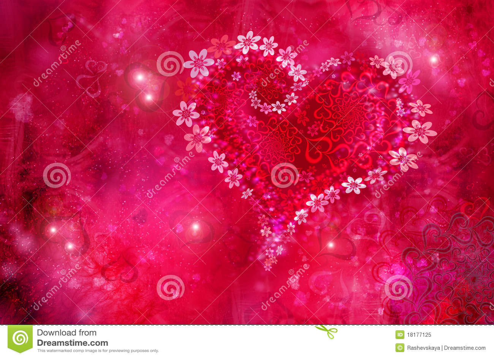 St. Textura do dia s do Valentim de
