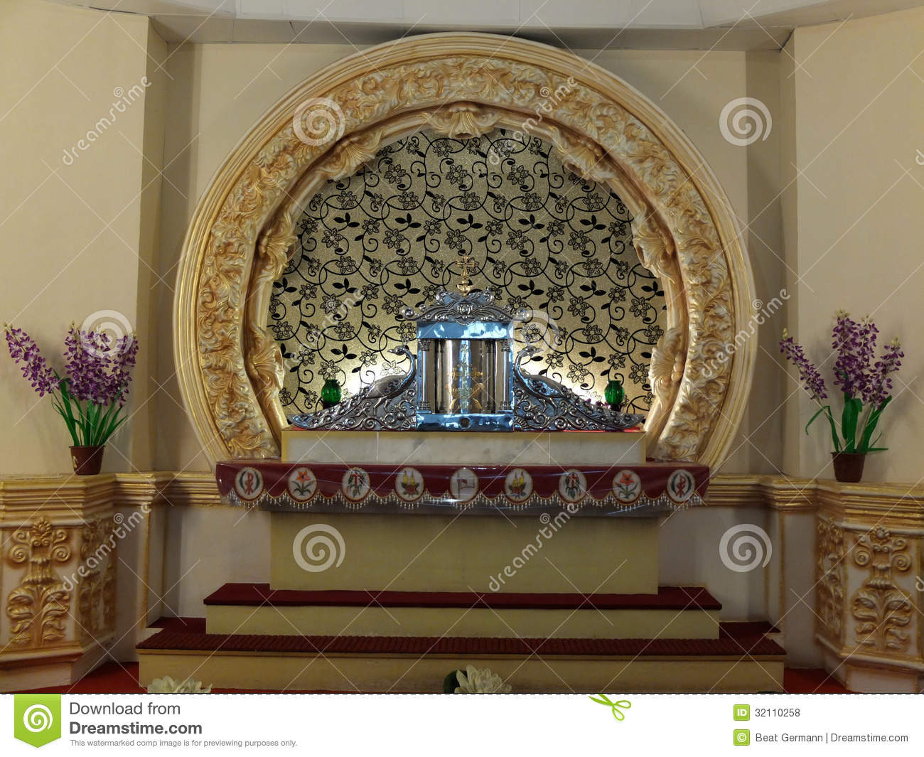 St Thomas Church Palayoor Kerala India Royalty Free
