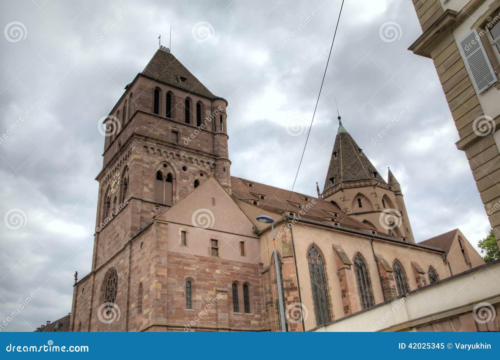St Thomas Church Strasburgo, Francia