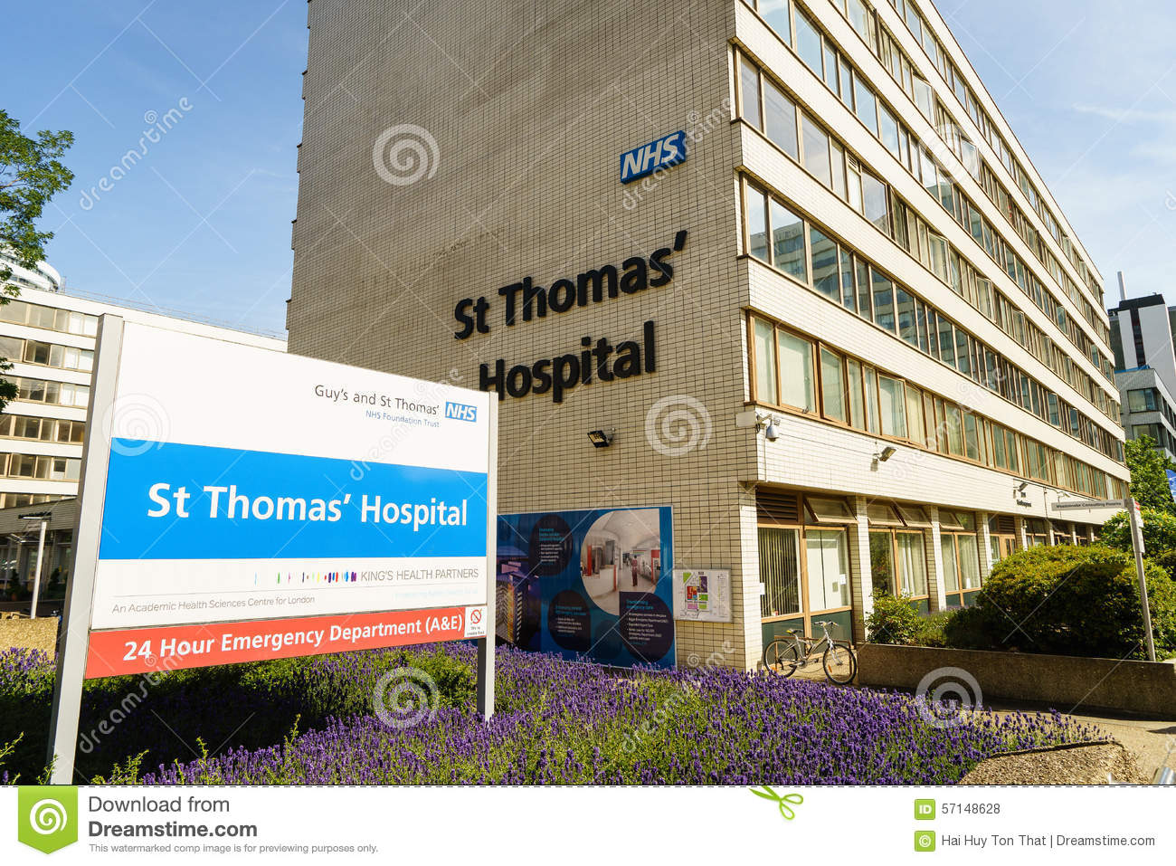 St Thomas Hospital i London