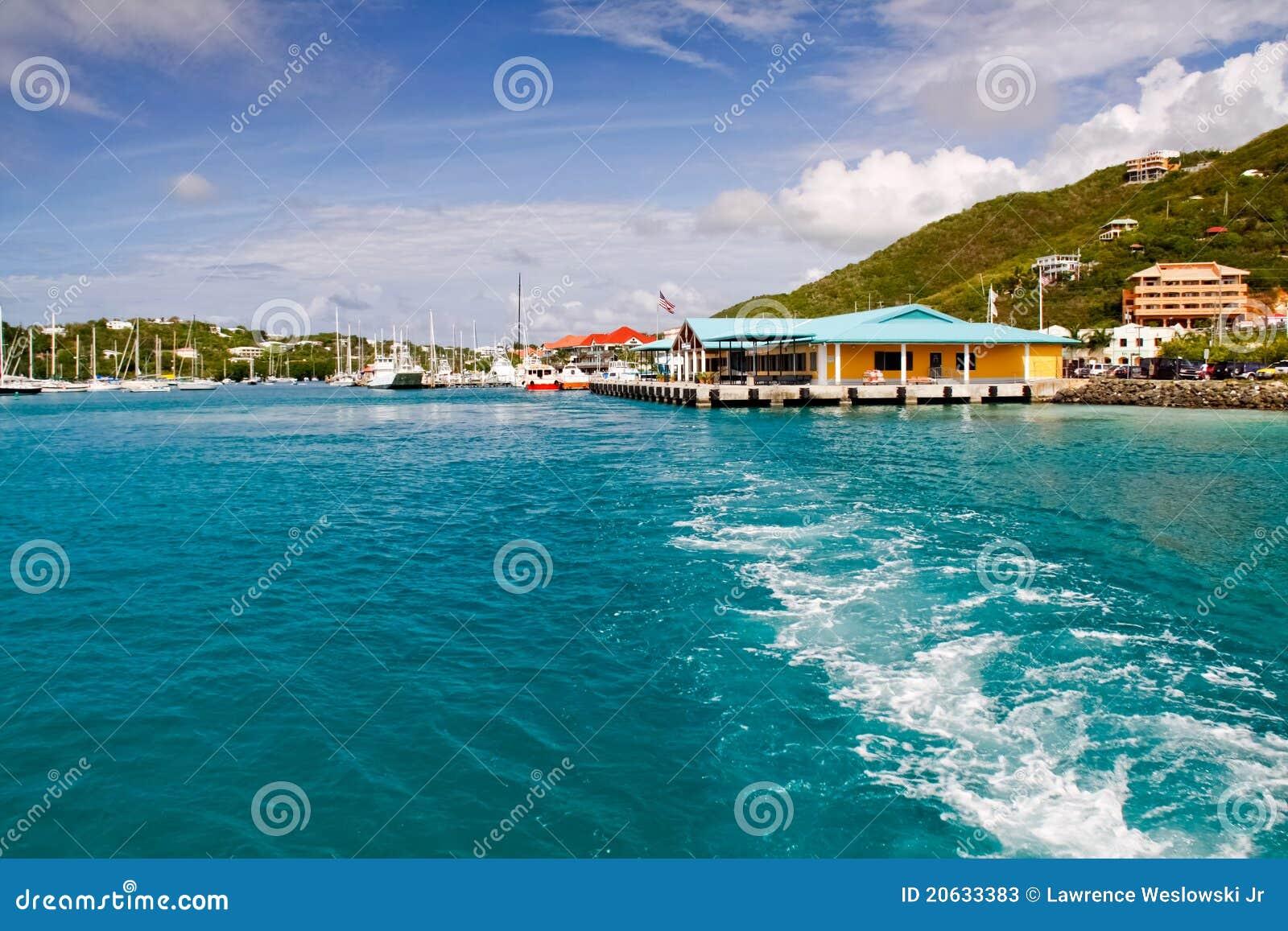 St Thomas Virgin Islands Red Hook Ferry