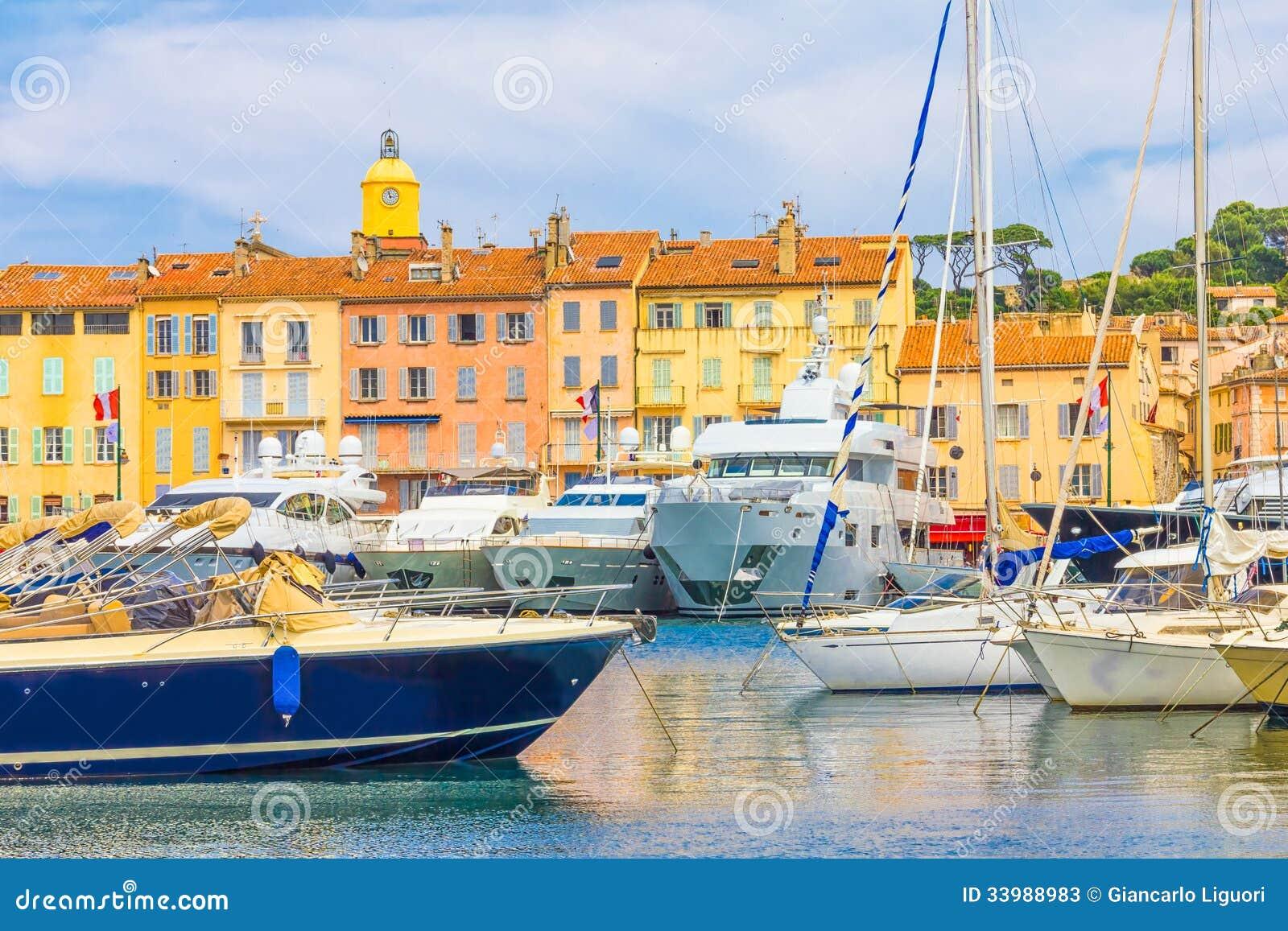 St Tropez в Франции