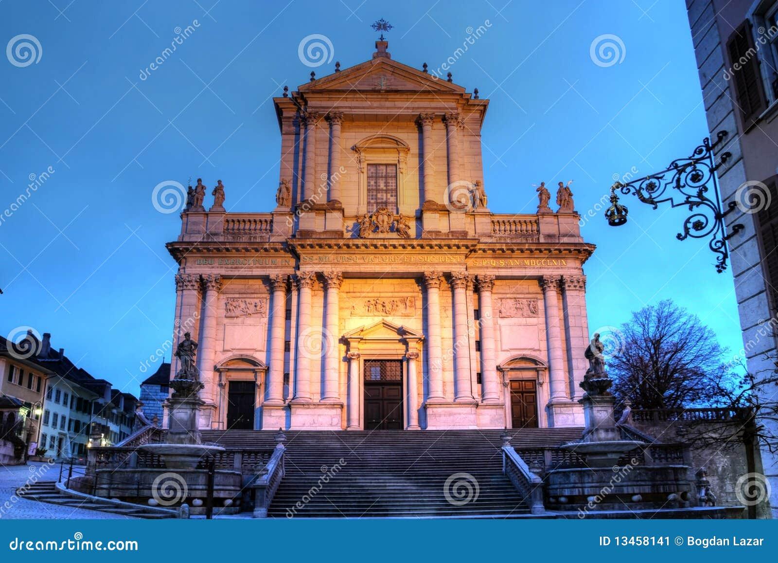 St-Ursen catedral, Solothurn, Switzerland