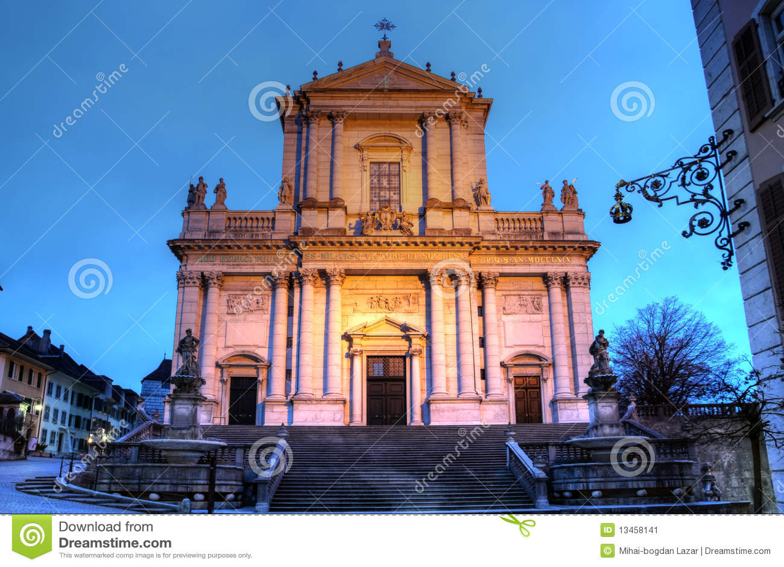St-Ursen Kathedraal, Solothurn, Zwitserland