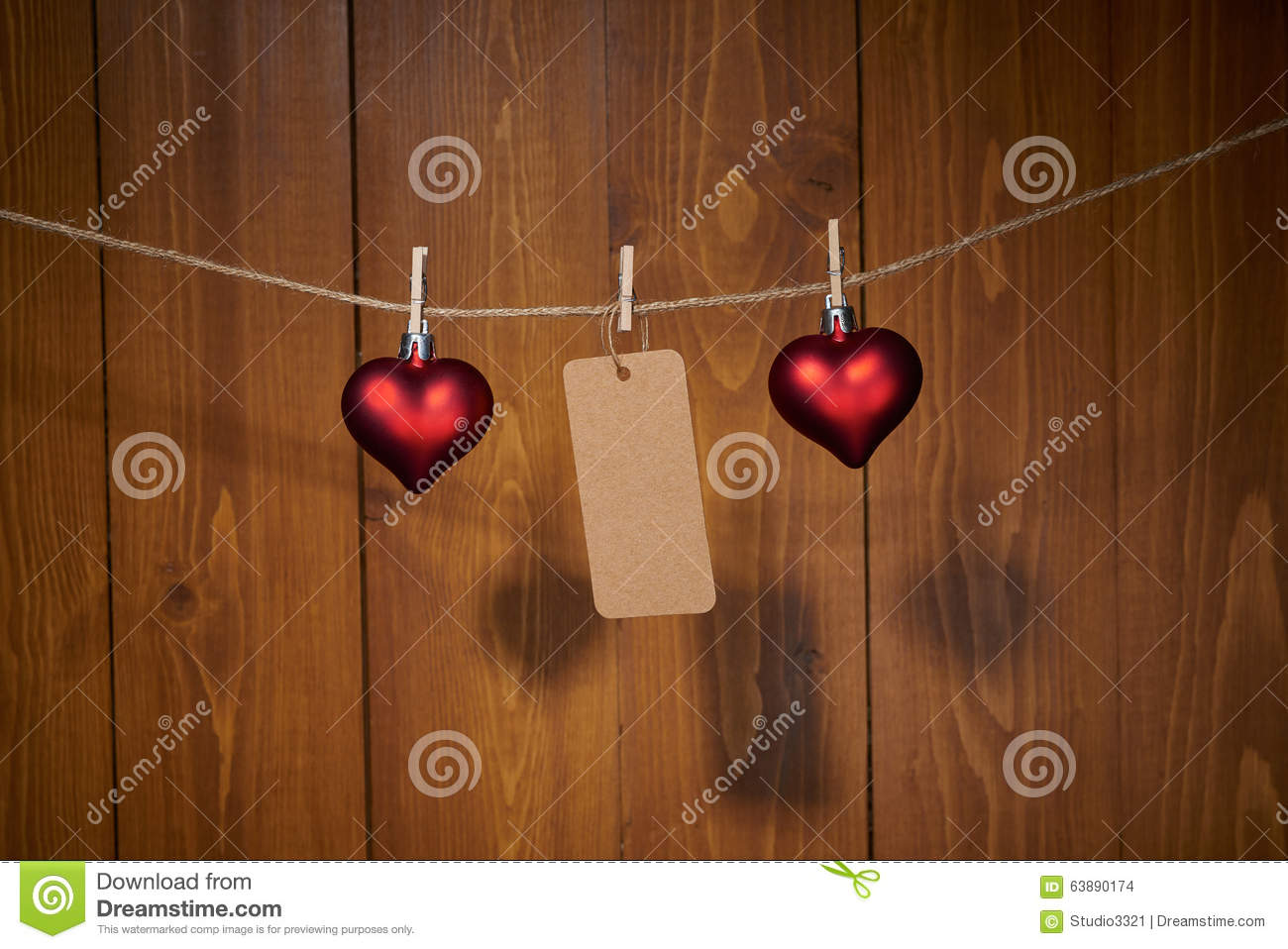 St valentine day decoration stock photo image 63890174 for Deco saint valentin