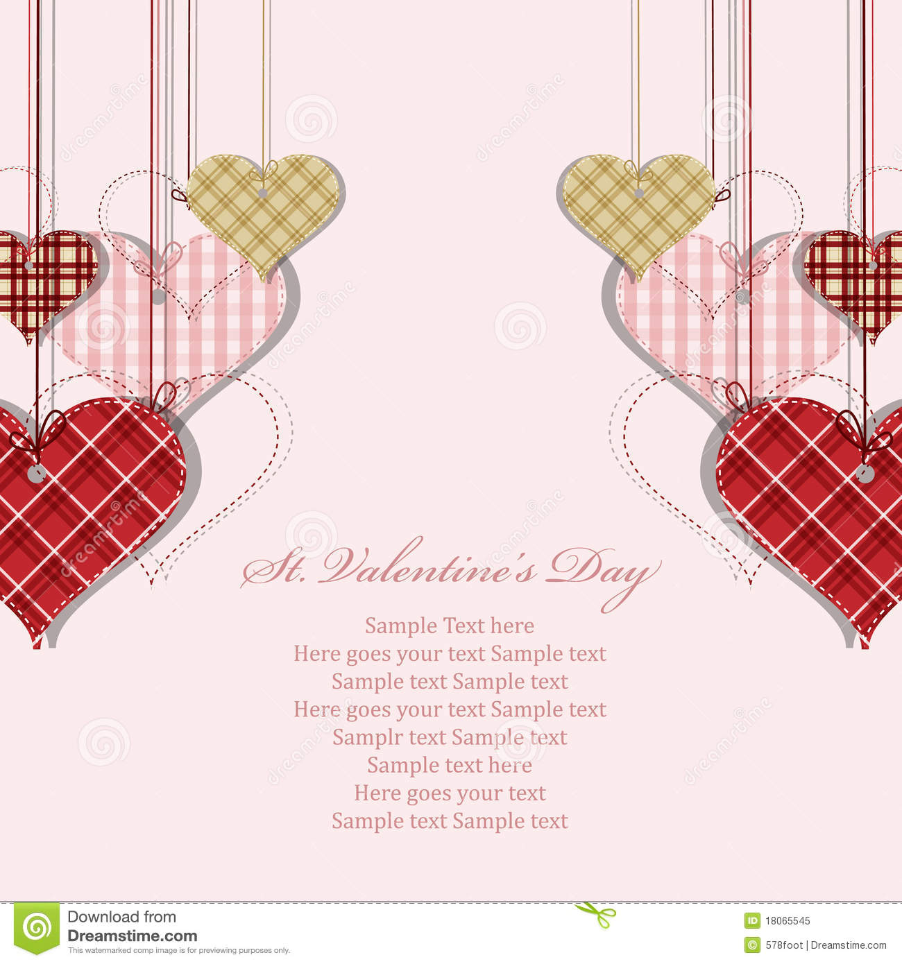 St Valentine Days Greeting Card Royalty Free Photo Image – Saint Valentine Card