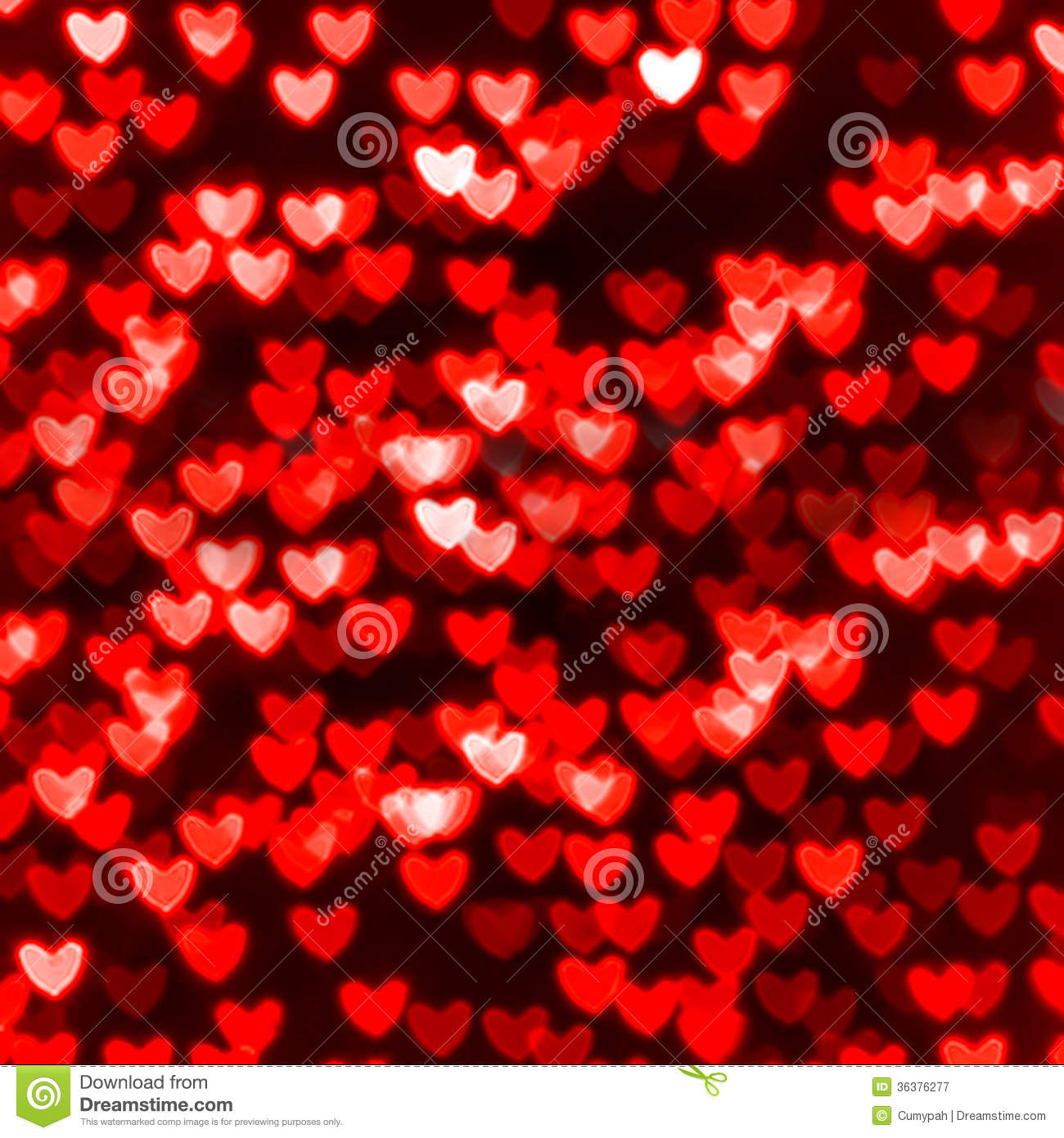Red Valentine Day background with hearts Vector Image #92630 ...