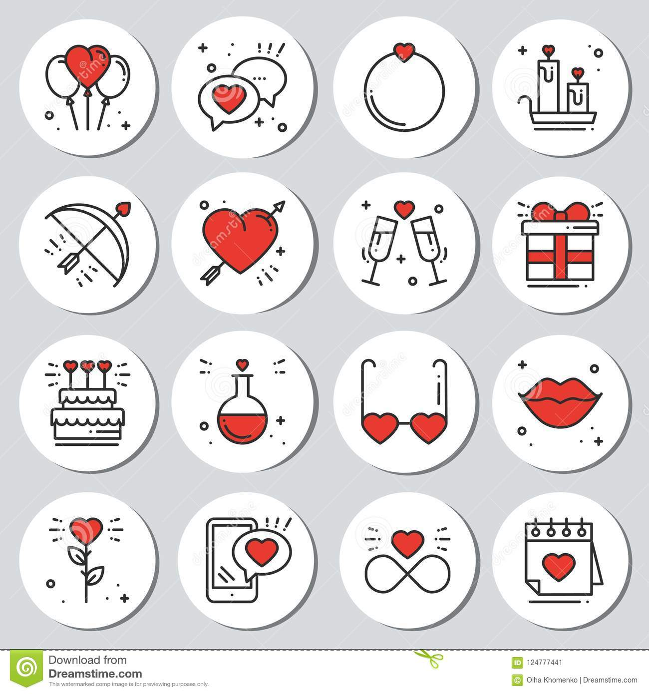 This is a photo of Valentine Stickers Printable intended for happy