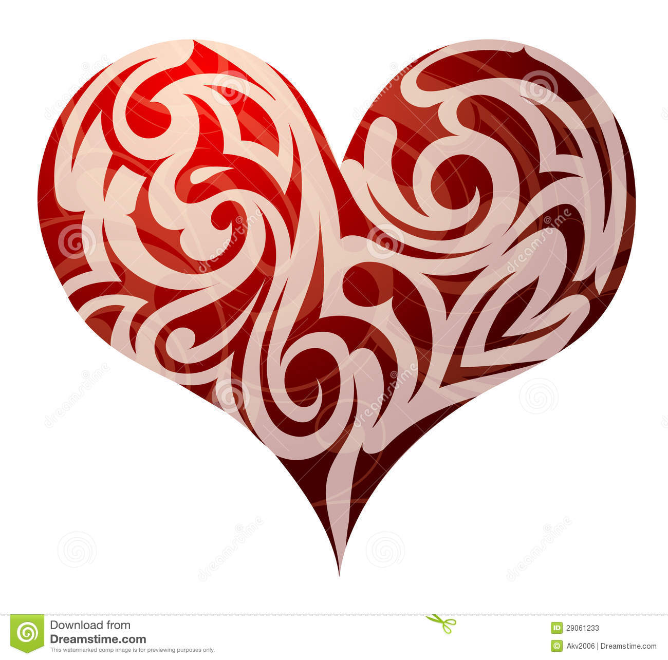 St. Valentines Heart Shape Stock Photos - Image: 29061233
