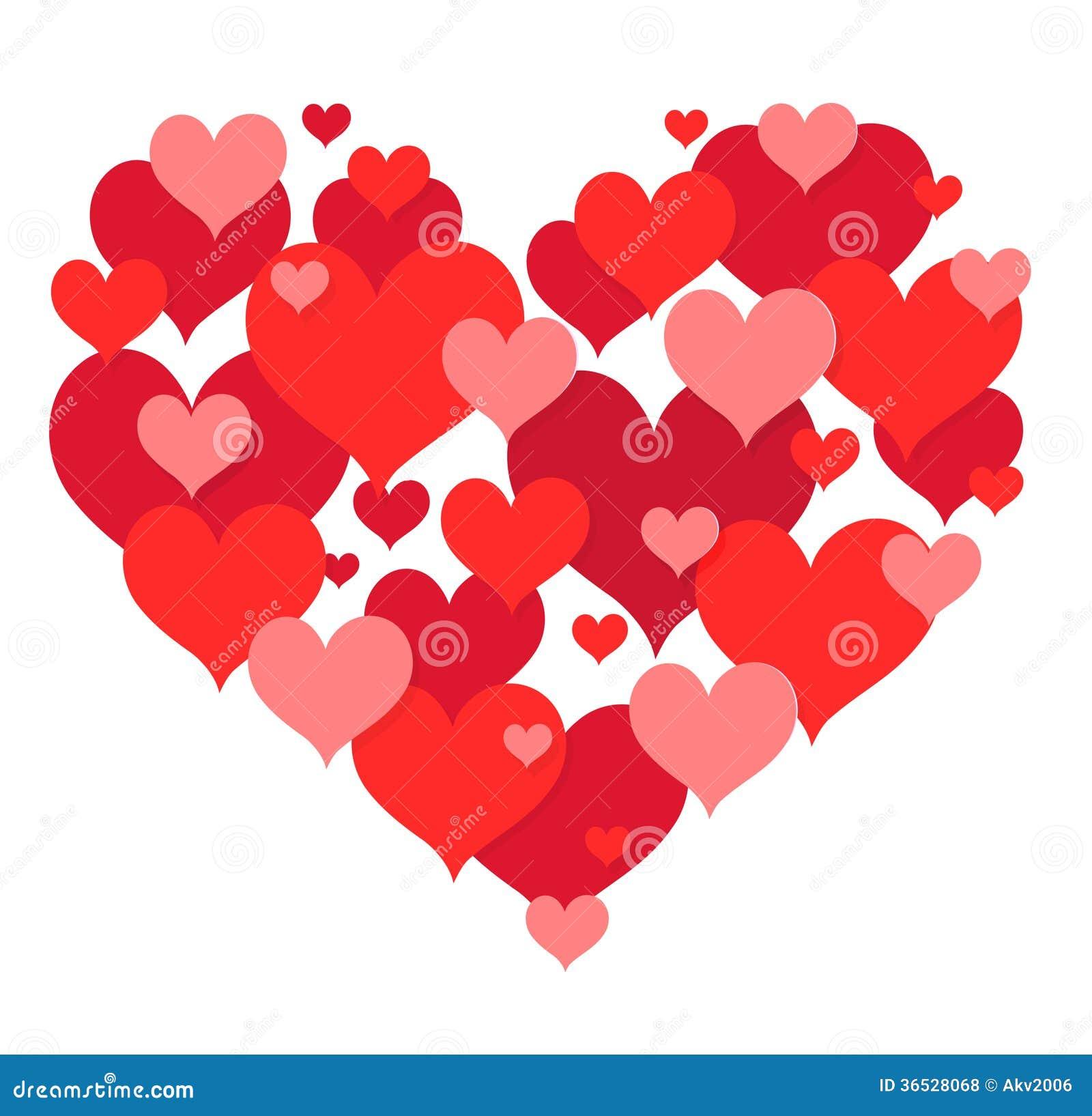 St Valentines Heart Shape Design Royalty Free Stock Photos - Image ...