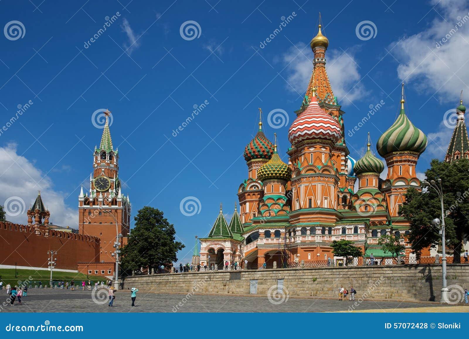 St van de interventiekathedraal Basilicum op Rood vierkant, Moskou, Rusland