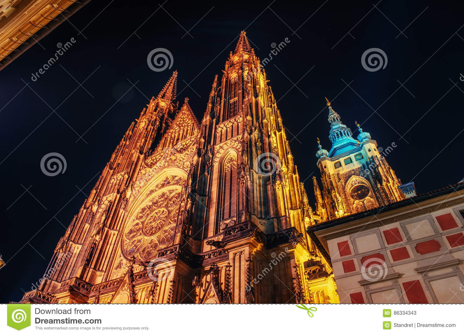 St Vitus Cathedral à Prague