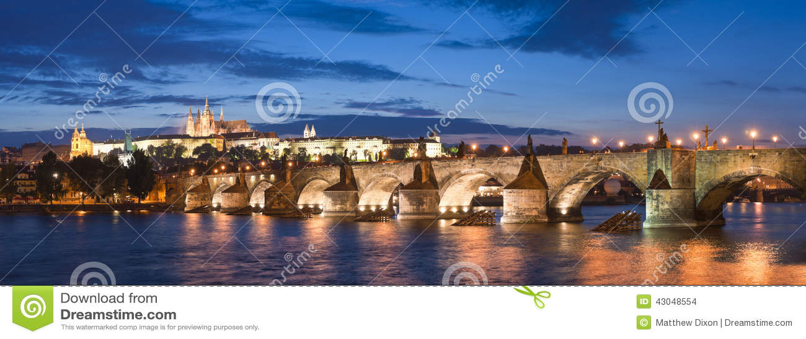 St Vitus Cathedral, castello di Praga e Charles Bridge