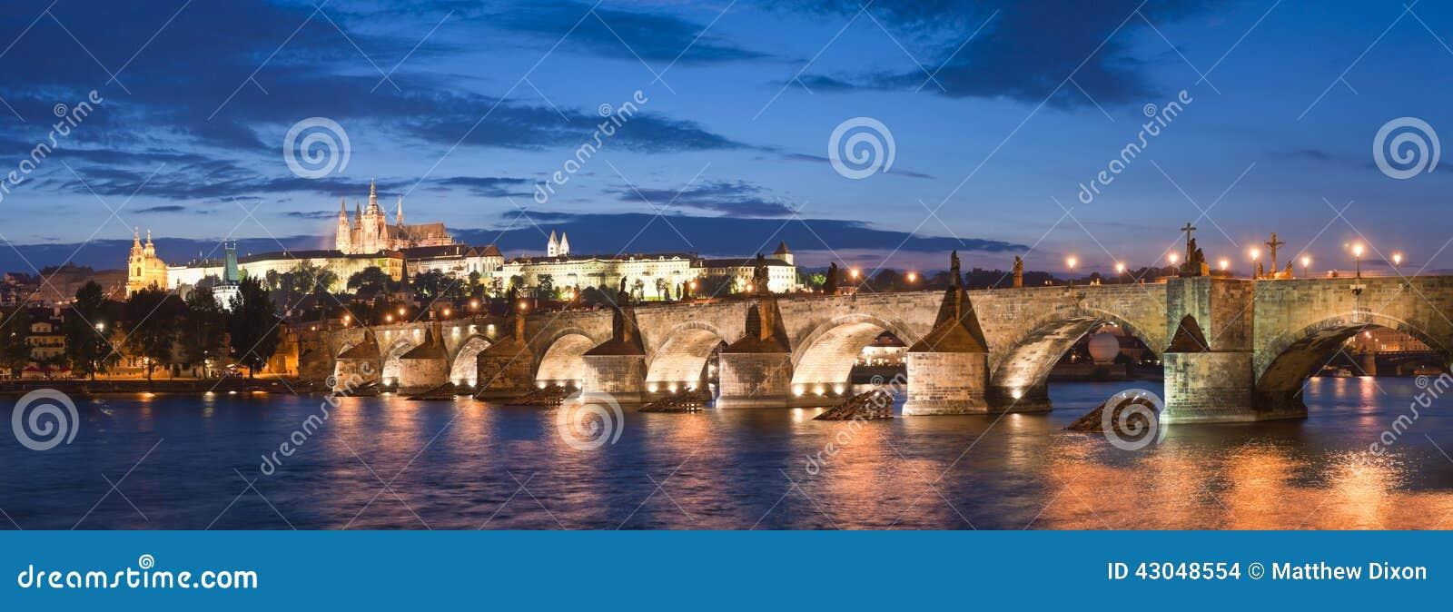 St Vitus Cathedral, castillo de Praga y Charles Bridge