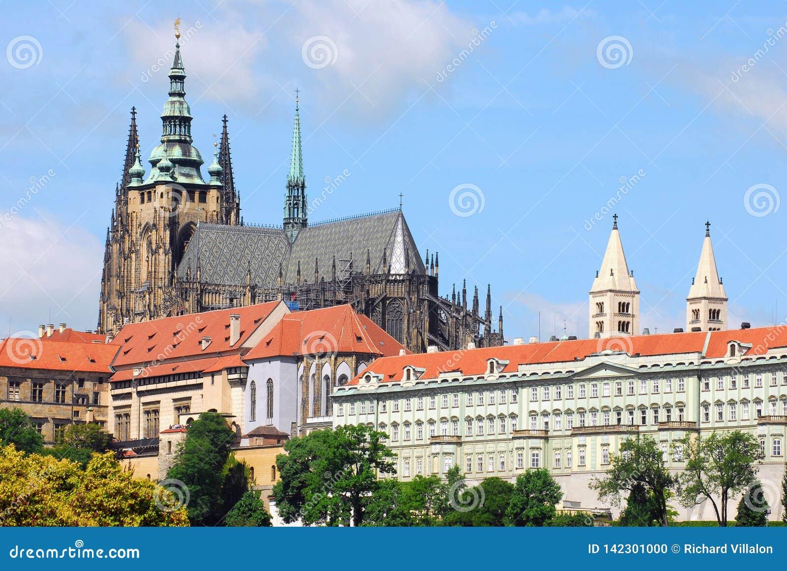 St Vitus Cathedral en Praga