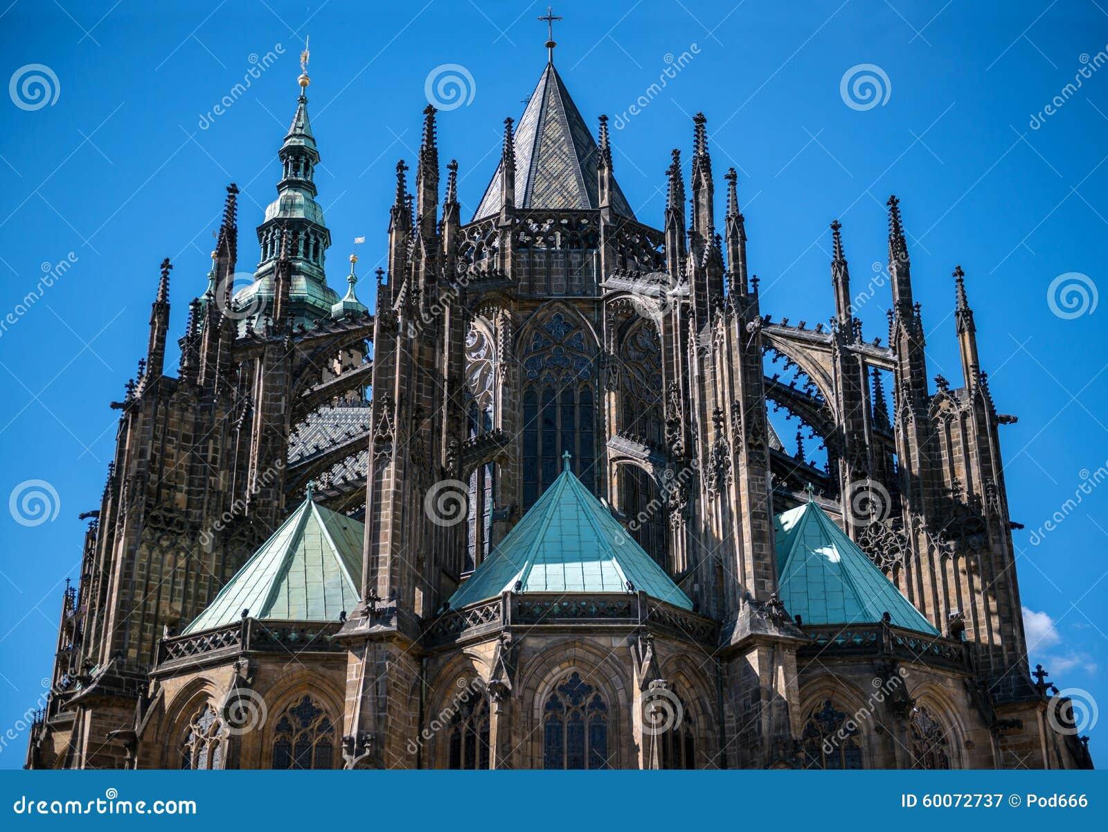 St Vitus Praga katedralny kasztel Praha