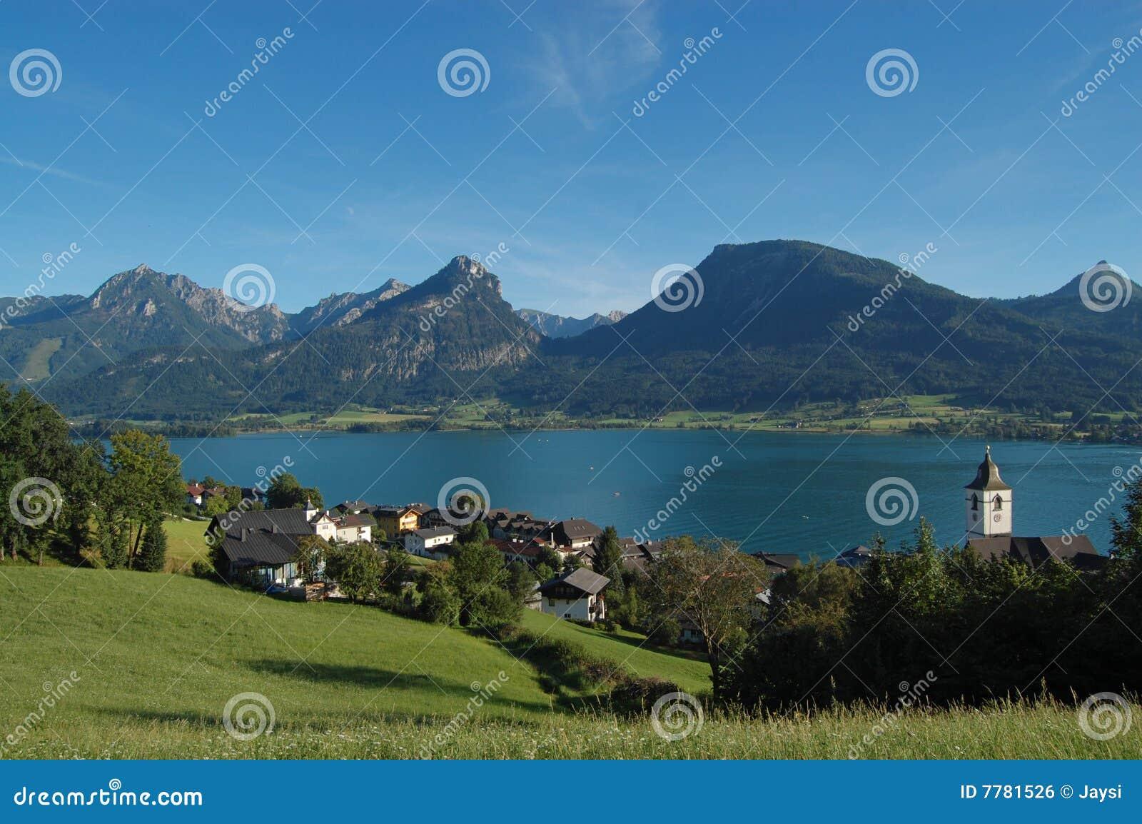 St.Wolfgang beautiful view