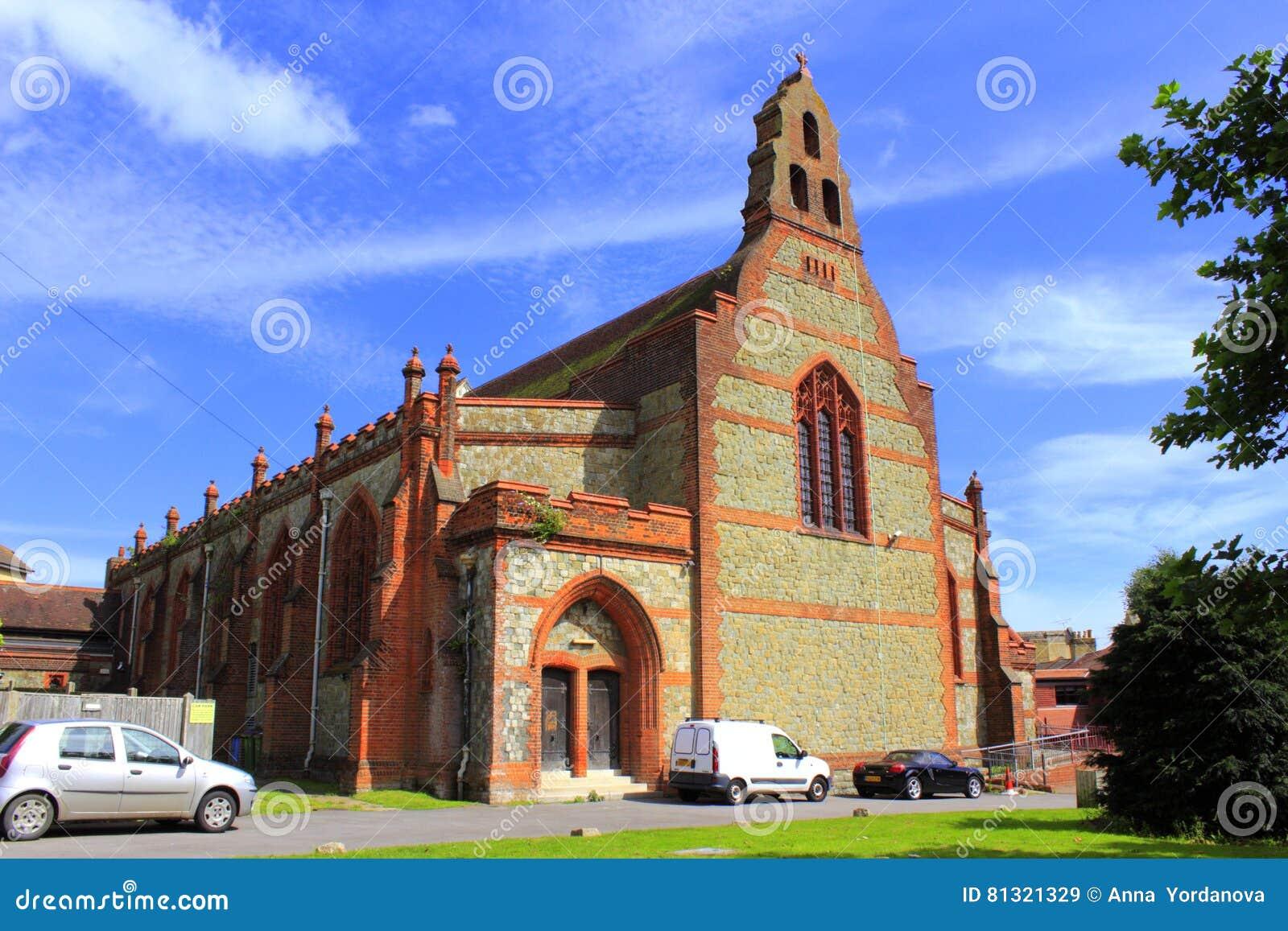 St wybawiciele Kościelny Folkestone Kent Zjednoczone Królestwo