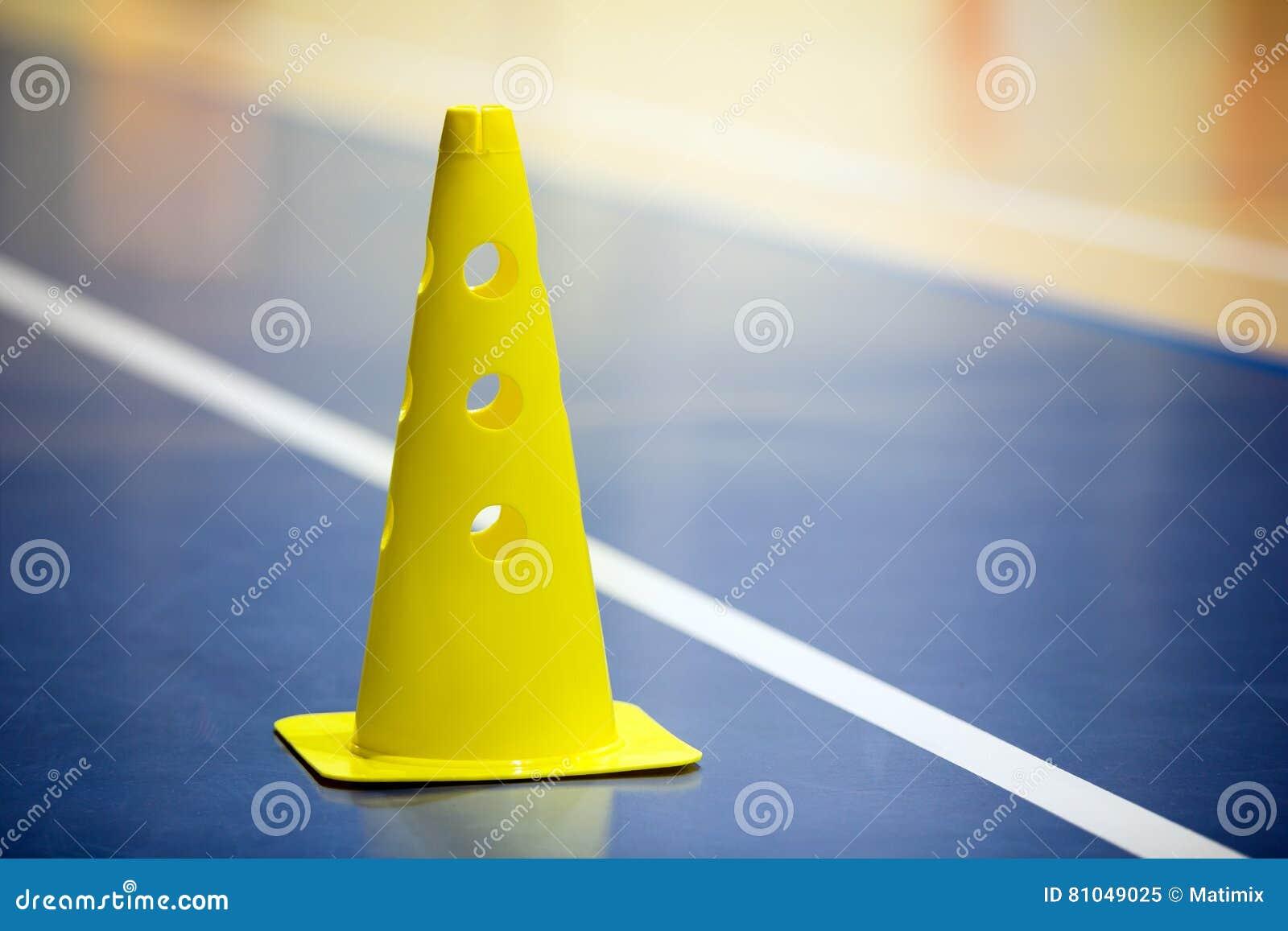 Stażowej piłki nożnej gym futsal salowy szkolenie Piłka nożna rożek na drewnianej podłoga