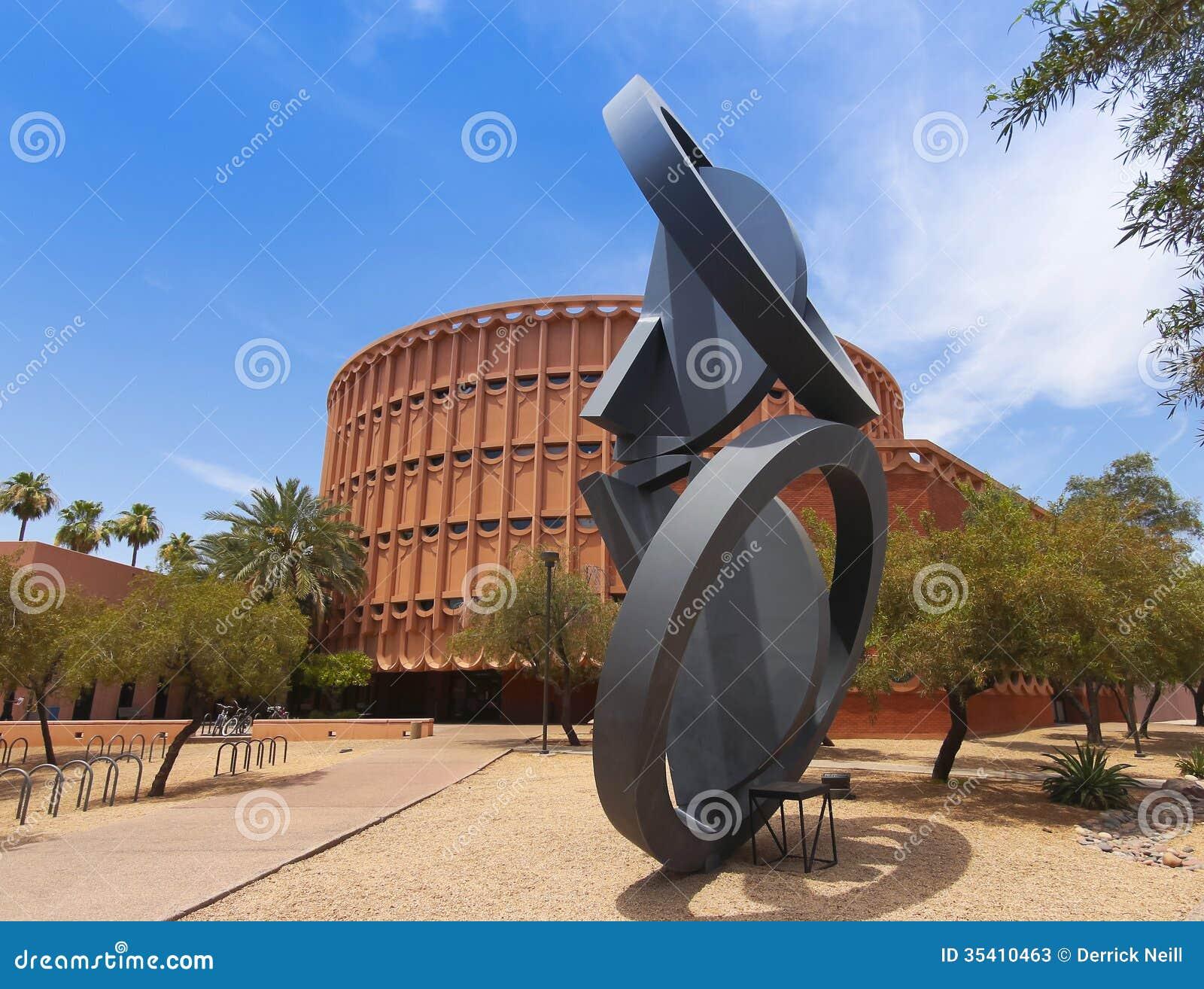 Staat Arizona Hochschulmusik Gebäude Tempe Arizona Redaktionelles