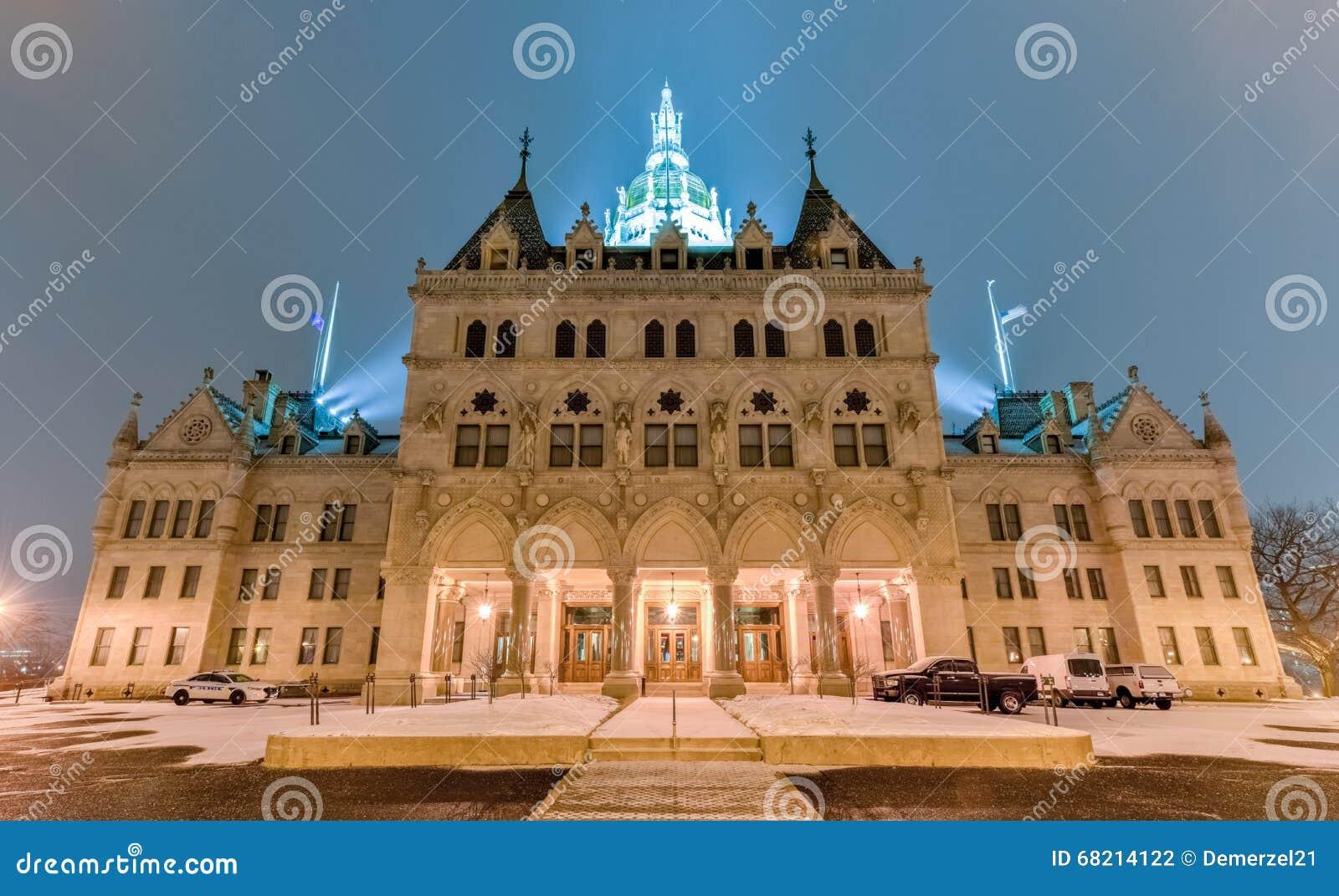 Staat Connecticut-Kapitol-Gebäude