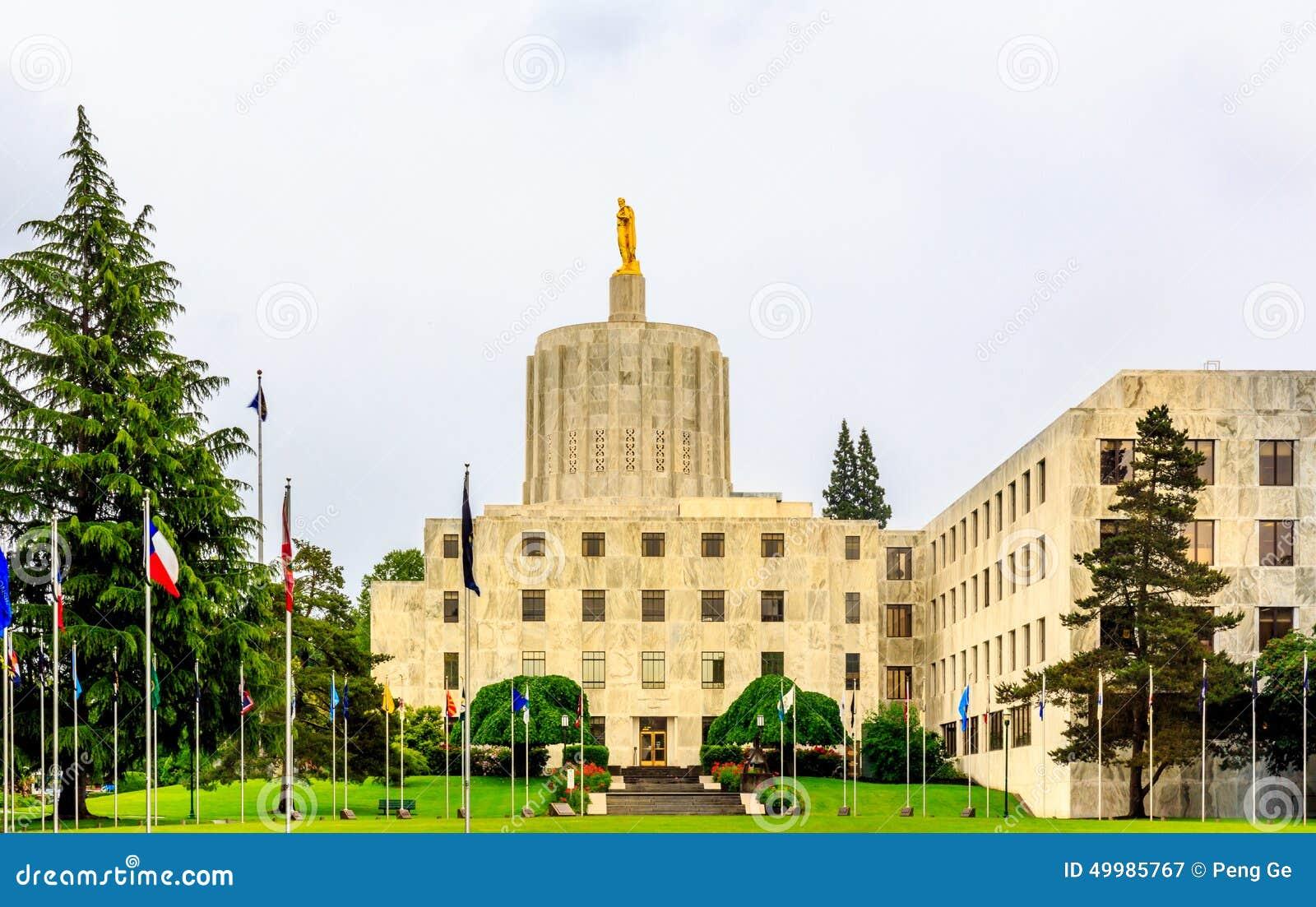 Staat Oregons-Kapitol-Gebäude