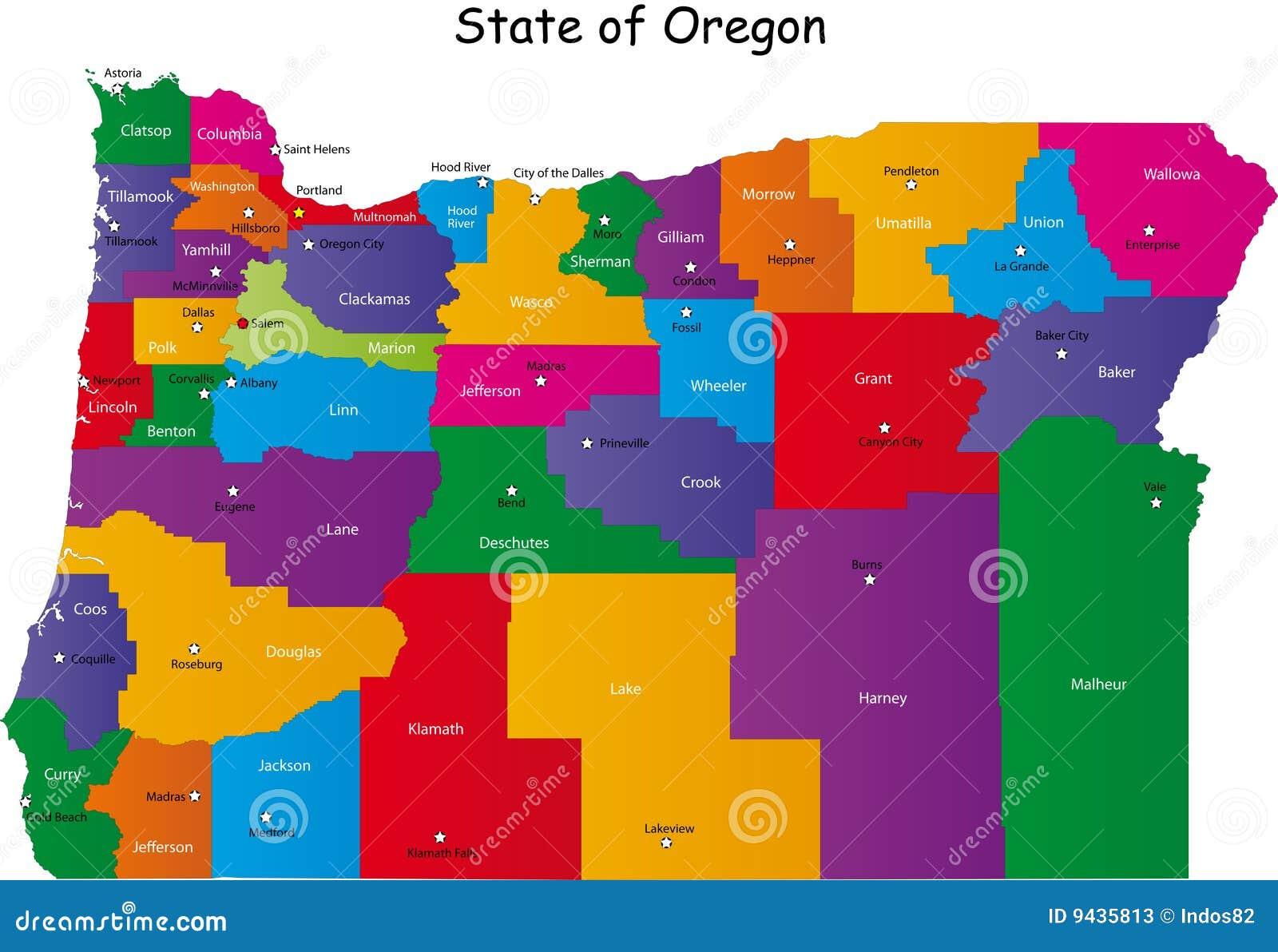 Staat van Oregon