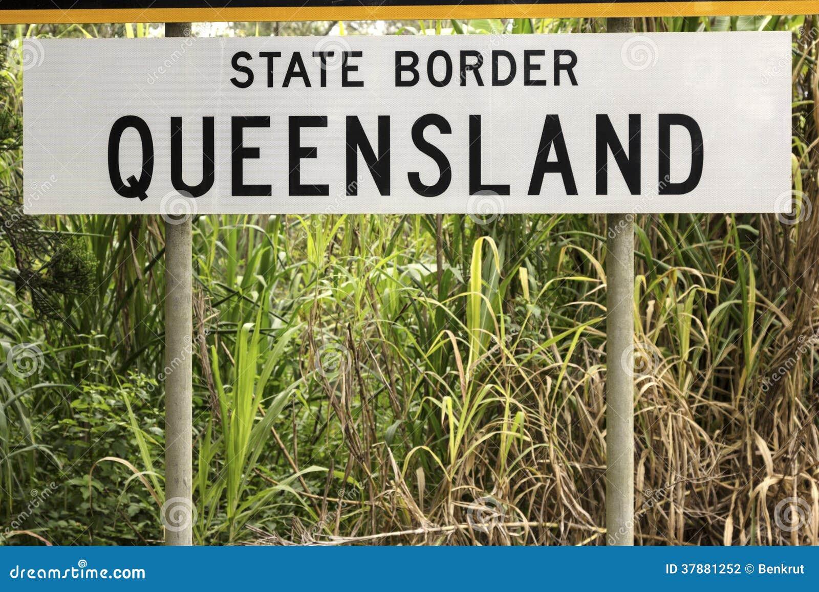 Staatsgrens - Queensland