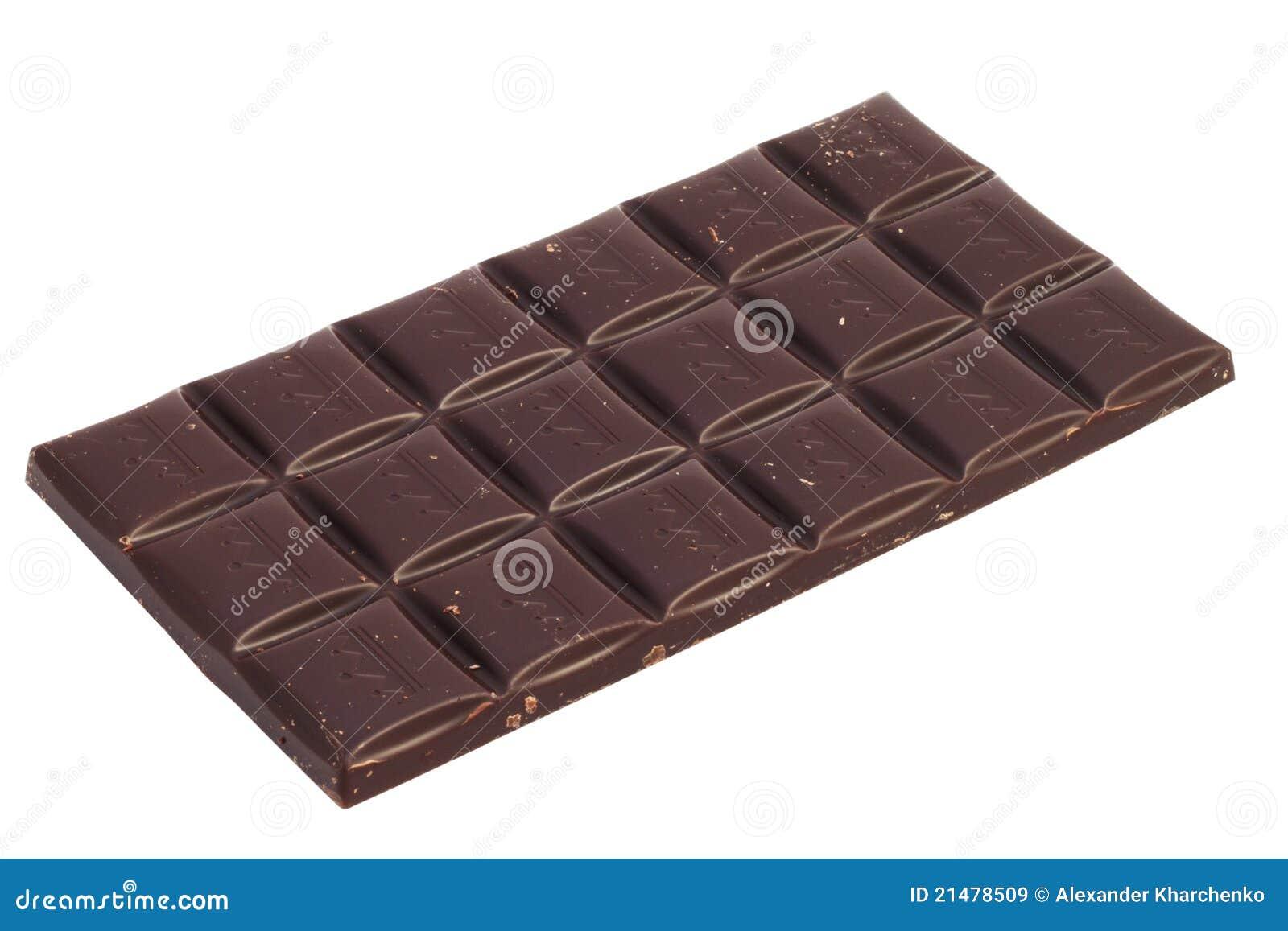 Stab der Schokolade