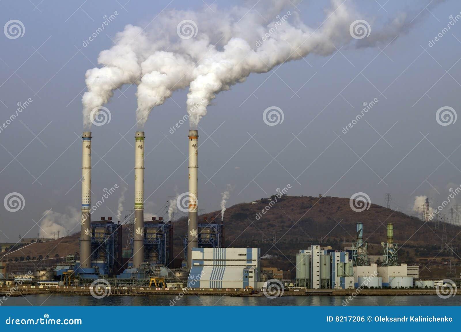 Stabilimento chimico/centrale elettrica