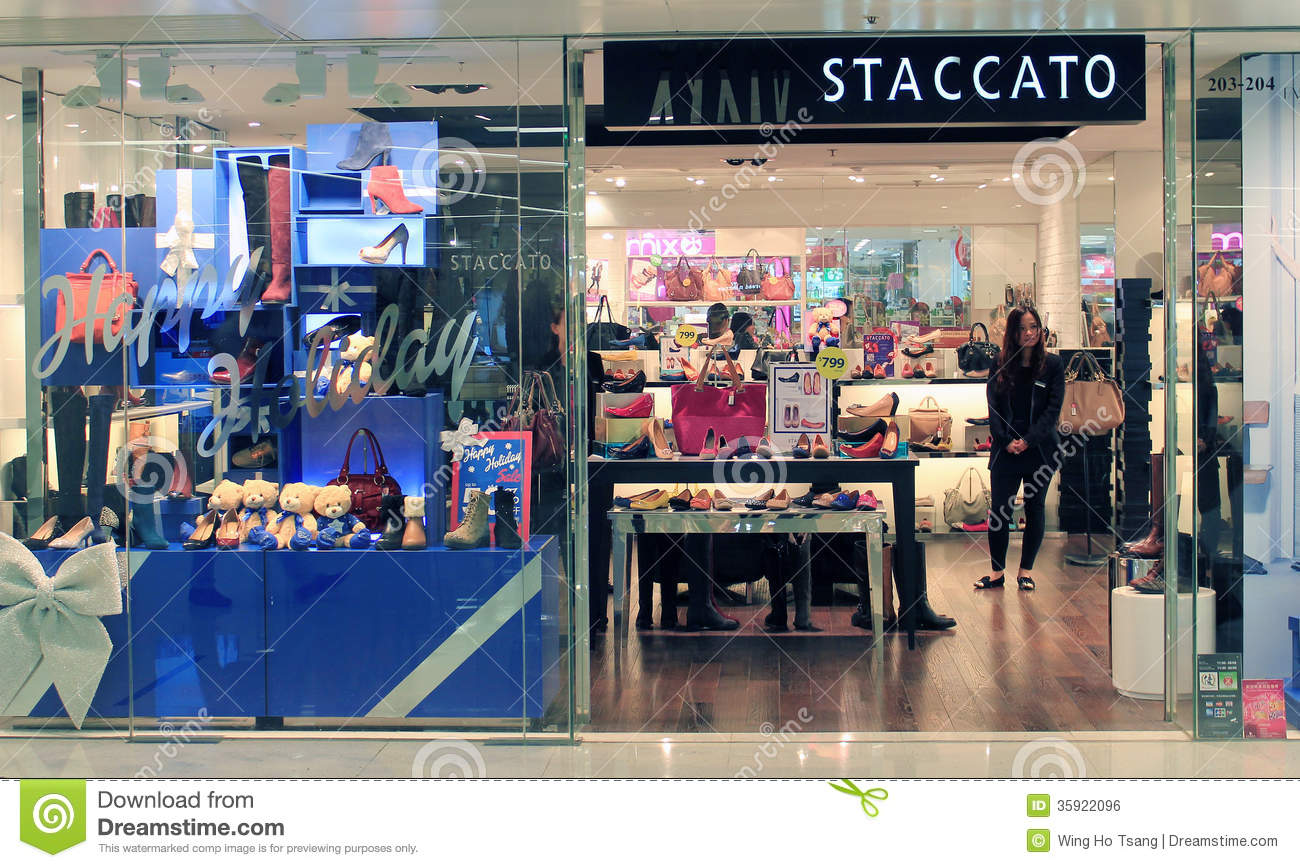 f554036cd8292 Staccato shop in hong kong editorial photo. Image of fashion - 35922096