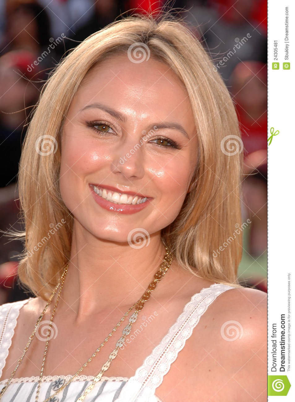 <b>Stacey Keibler</b> at the World Premiere of Editorial Photo - stacey-keibler-world-premiere-24305481