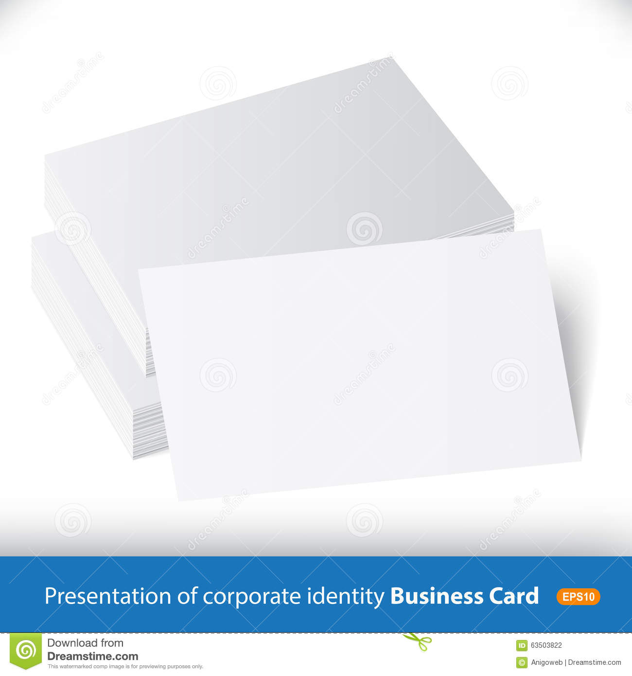 Free Vector Business Card Pile Choice Image - Card Design And Card ...