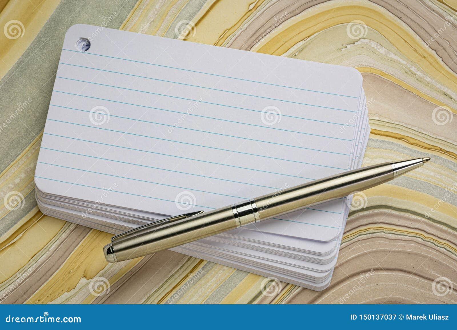 stack of blank index card stock illustration illustration