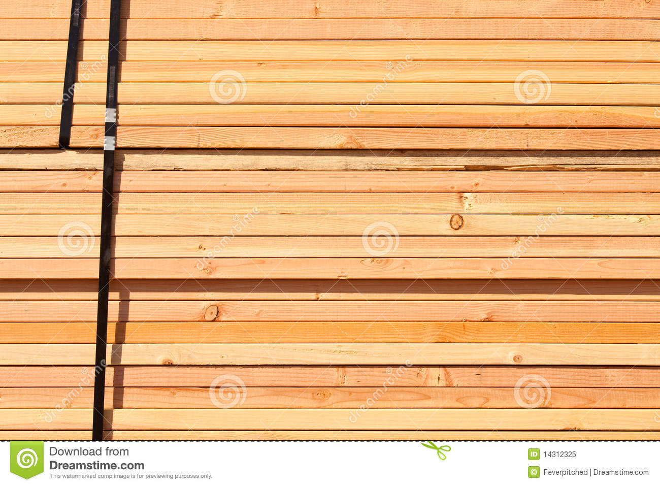Stack of building lumber royalty free stock photo image