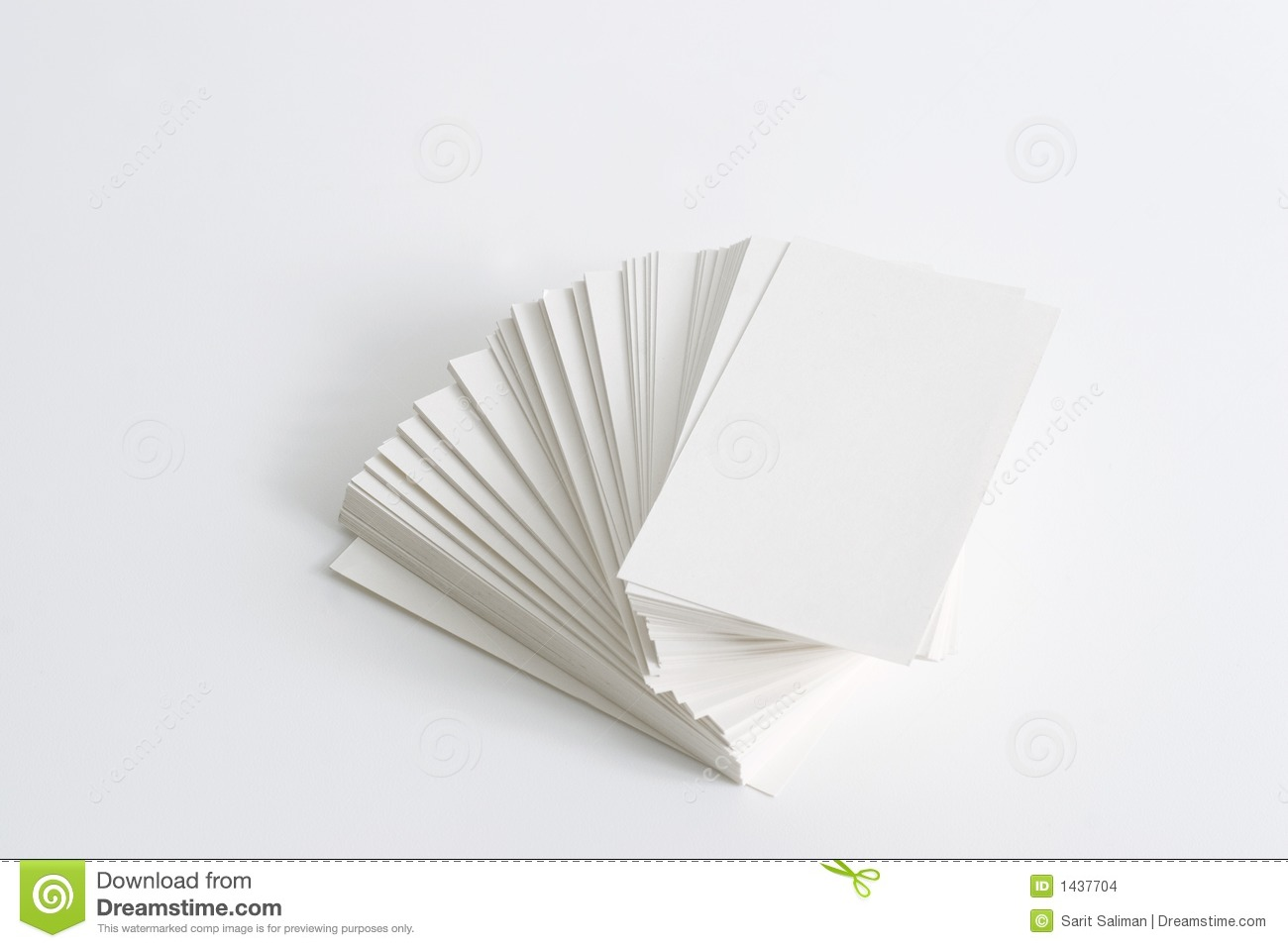 Stack Of Business Cards Stock Photo Image Of Mind Available 1437704