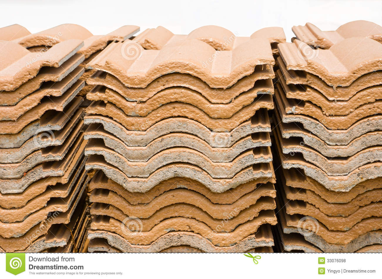 Stack of ceramic roof tiles stock photo image of pile material stack of ceramic roof tiles dailygadgetfo Image collections