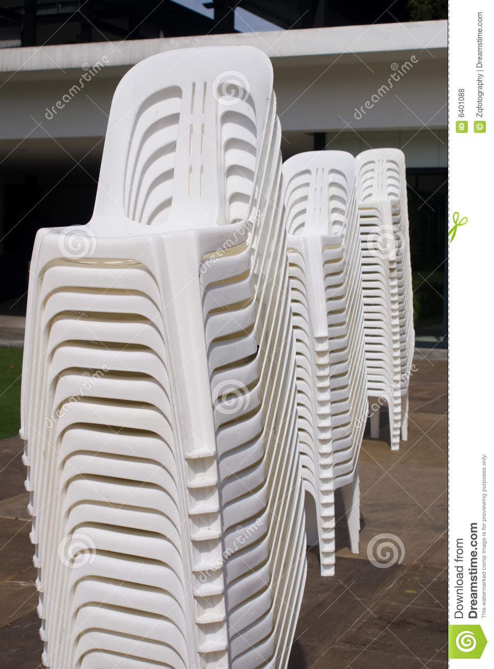 Stack Of Chair Royalty Free Stock Photos Image 6401088