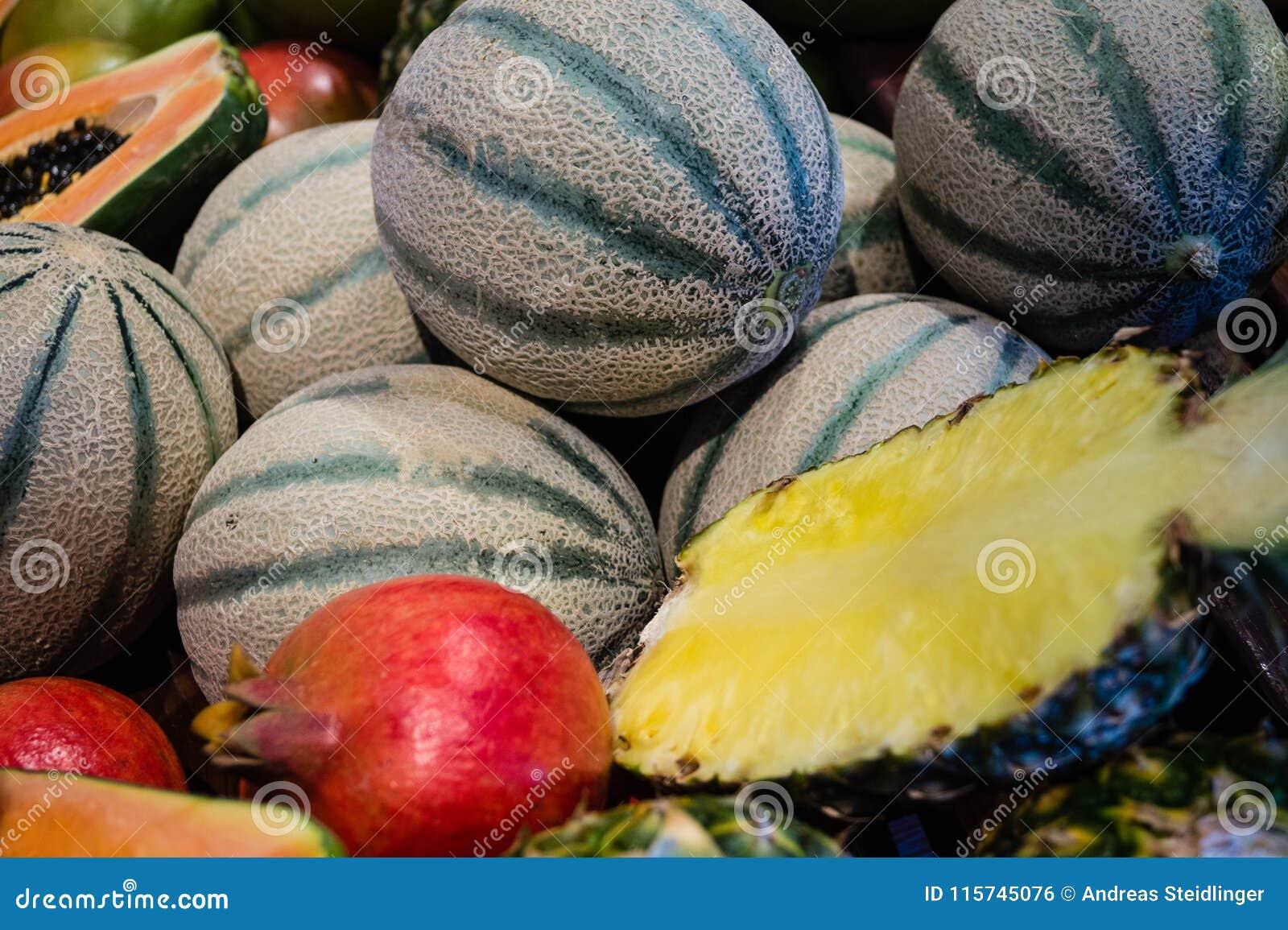 Fruits on a market