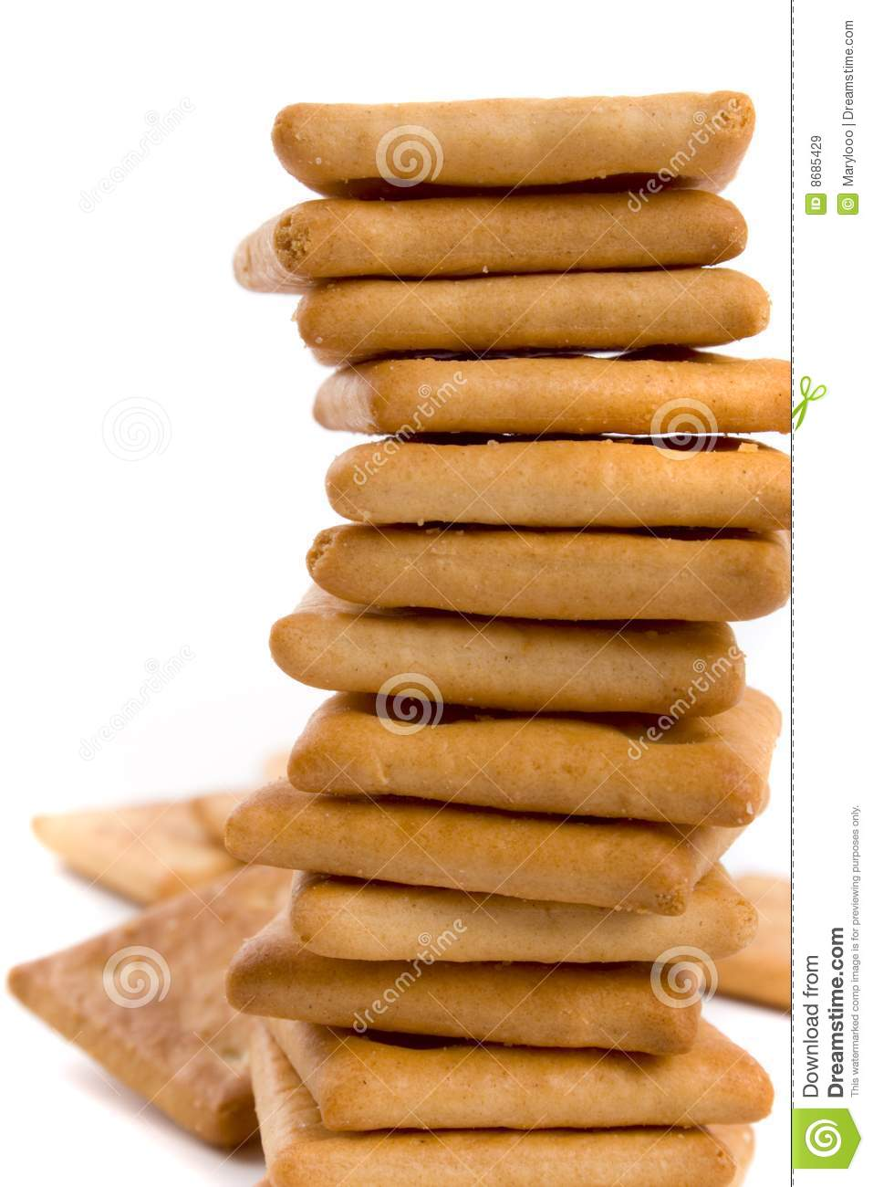 Stack Of Cookie Royalty Free Stock Images - Image: 8685429